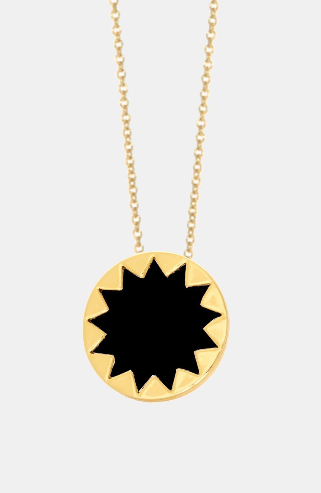Alternate Image 2  - House of Harlow 1960 Mini Sunburst Pendant Necklace (Online Only)