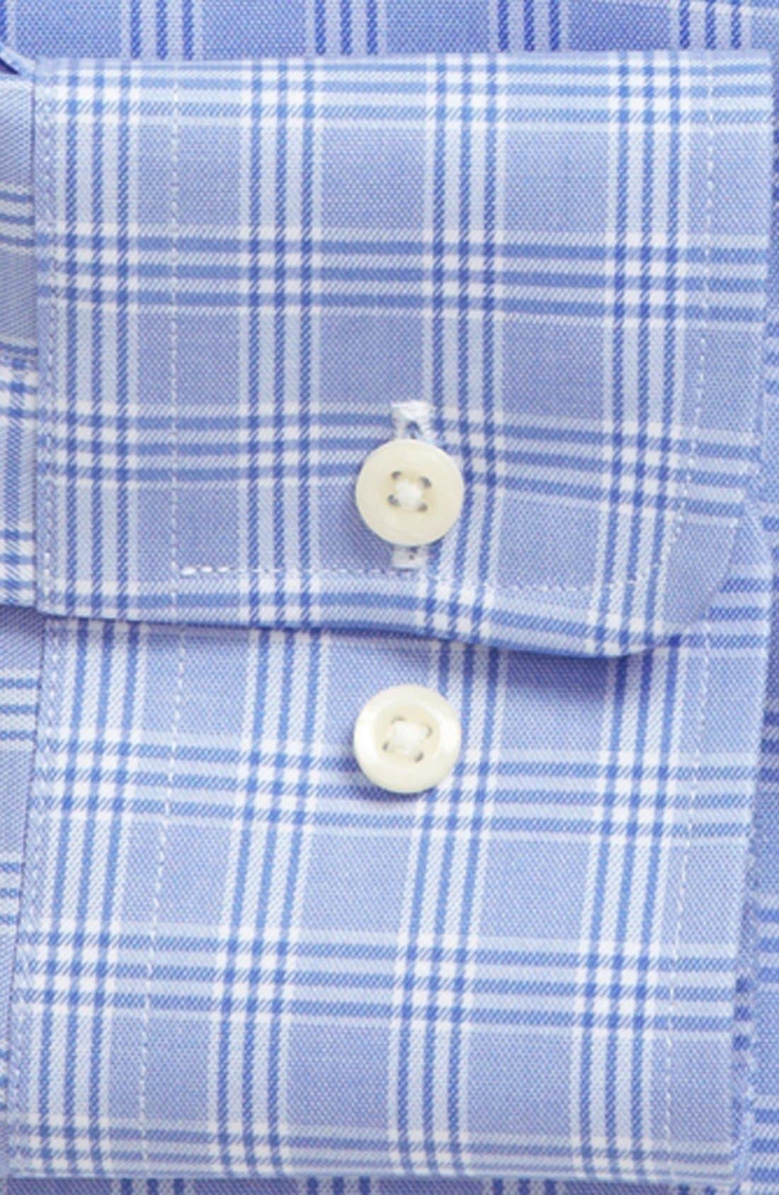 Alternate Image 2  - David Donahue Trim Fit Dress Shirt