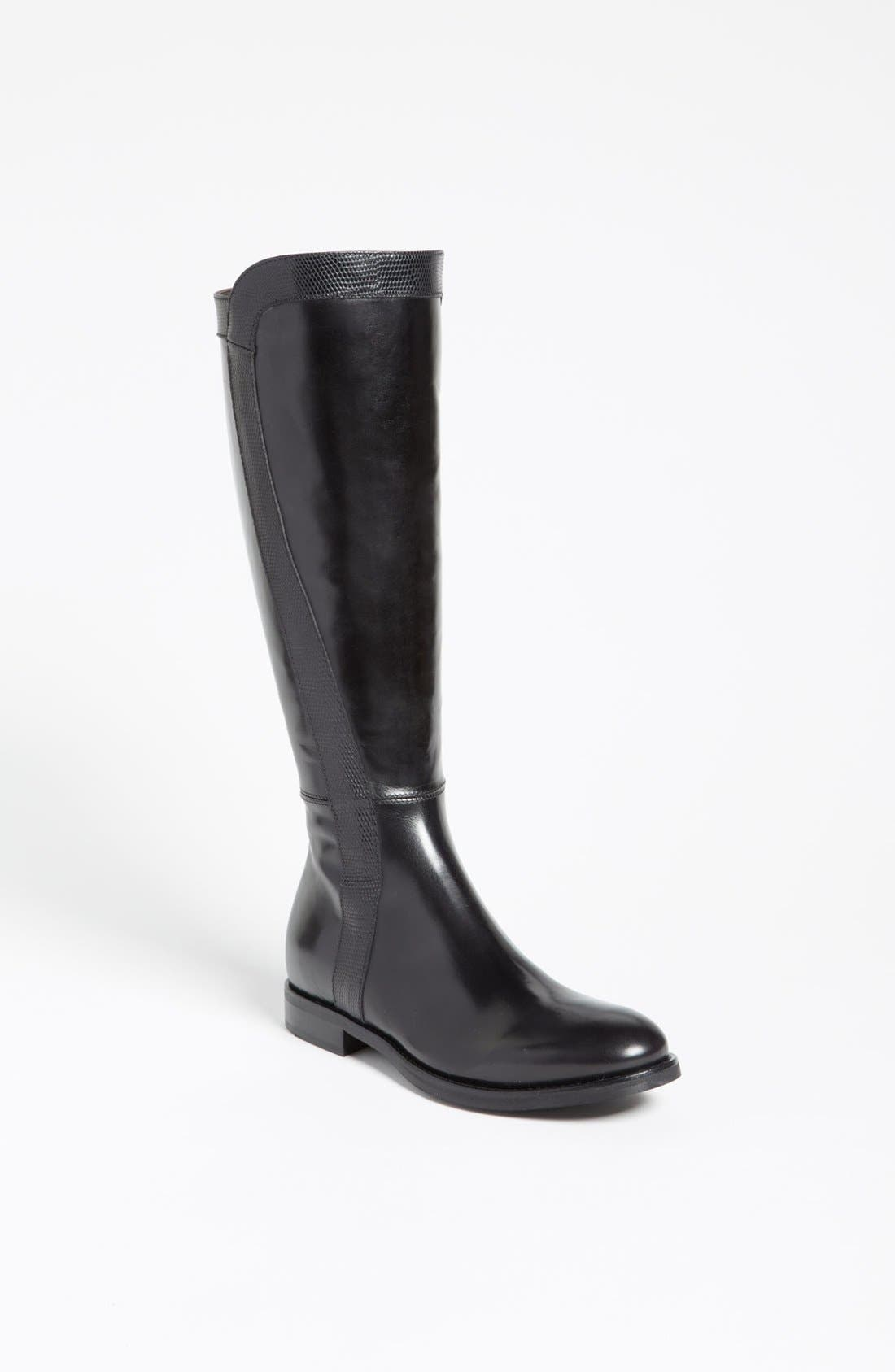 Attilio Giusti Leombruni Tall Boot,                             Main thumbnail 1, color,                             Black
