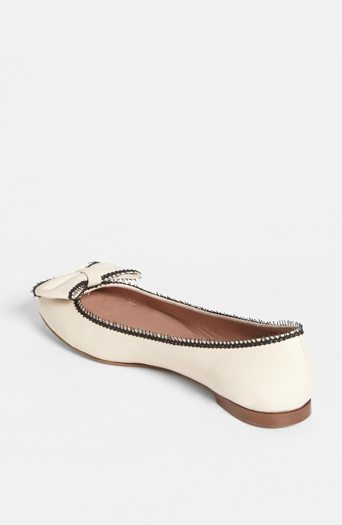 Alternate Image 2  - RED Valentino Ballerina Flat (Online Only)