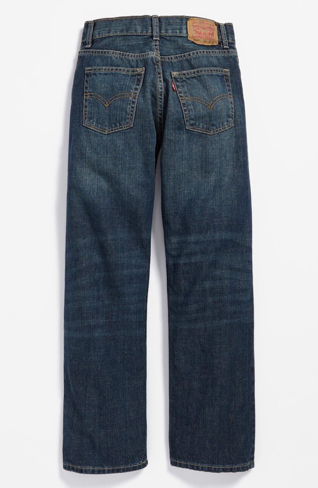 Alternate Image 1 Selected - Levi's® '514™' Straight Leg Jeans (Big Boys)