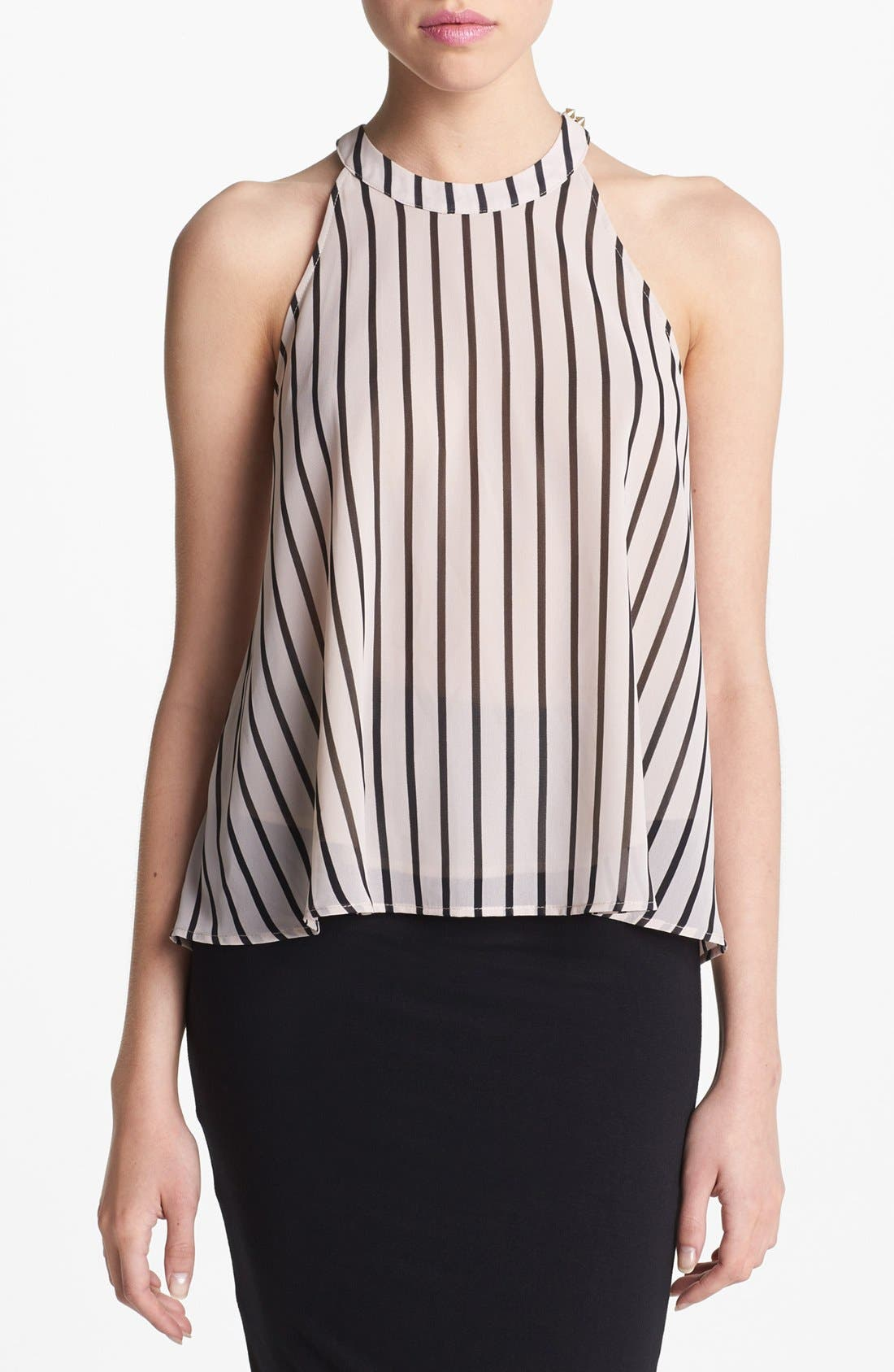 Alternate Image 1 Selected - ASTR Stripe Racerback Tank