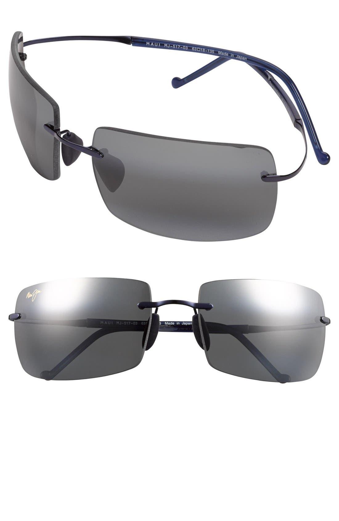 Main Image - Maui Jim 'Thousand Peaks' 63mm Polarized Sunglasses