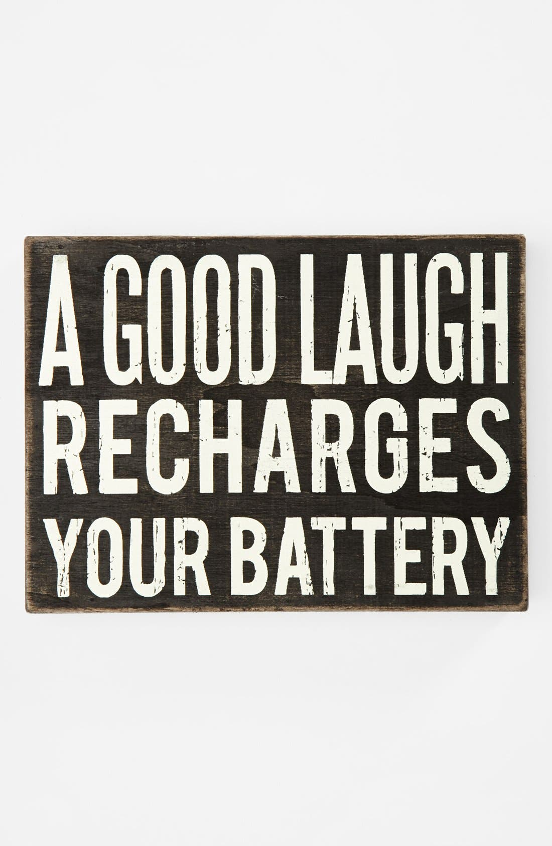 Main Image - Primitives by Kathy 'A Good Laugh' Box Sign