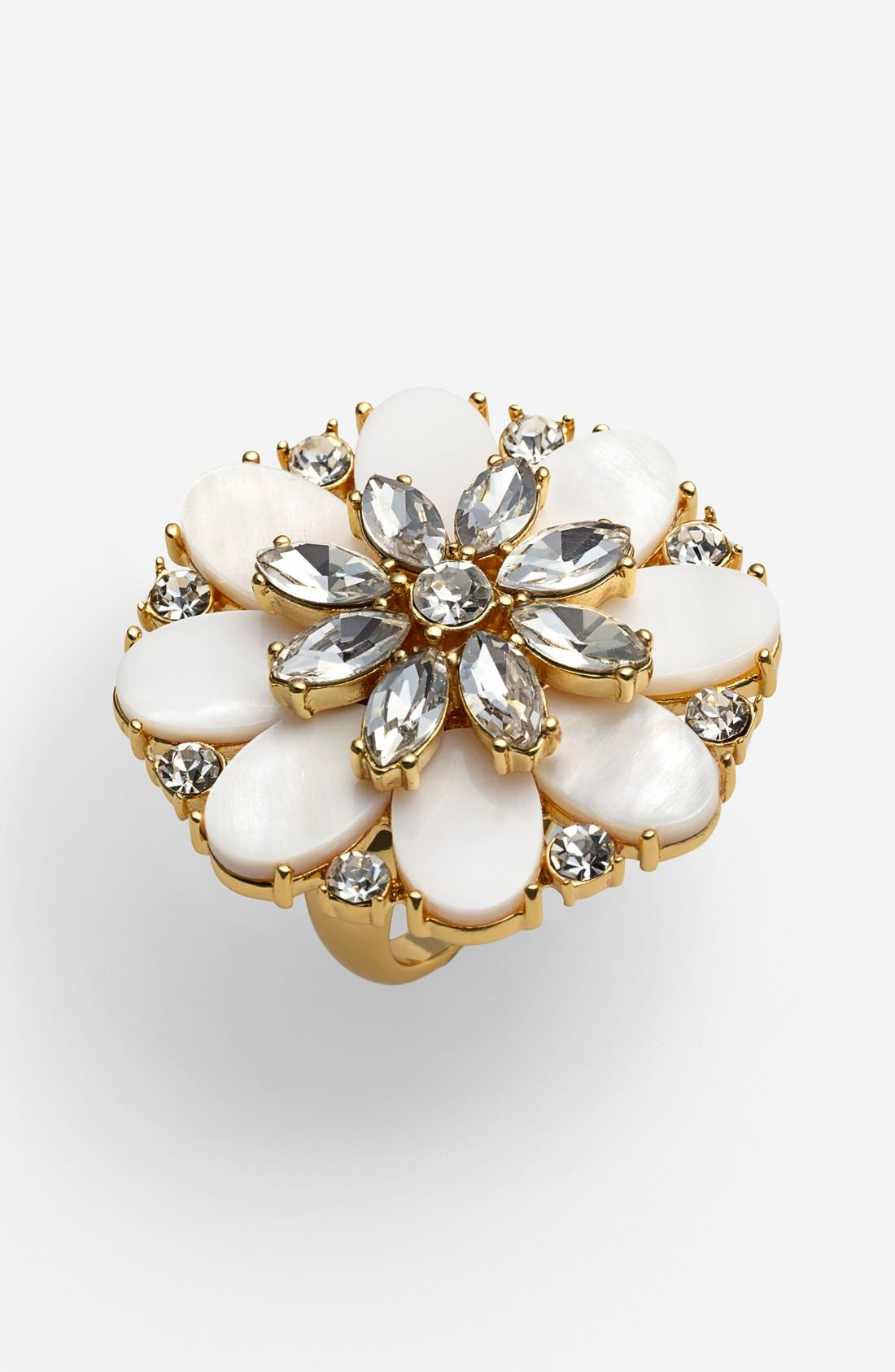 Main Image - kate spade new york 'bungalow bouquet' cocktail ring