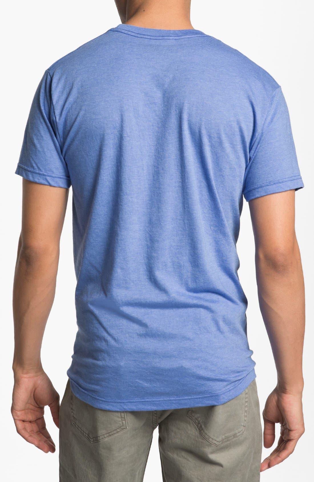 Alternate Image 2  - Topless 'NASA Logo' Graphic T-Shirt