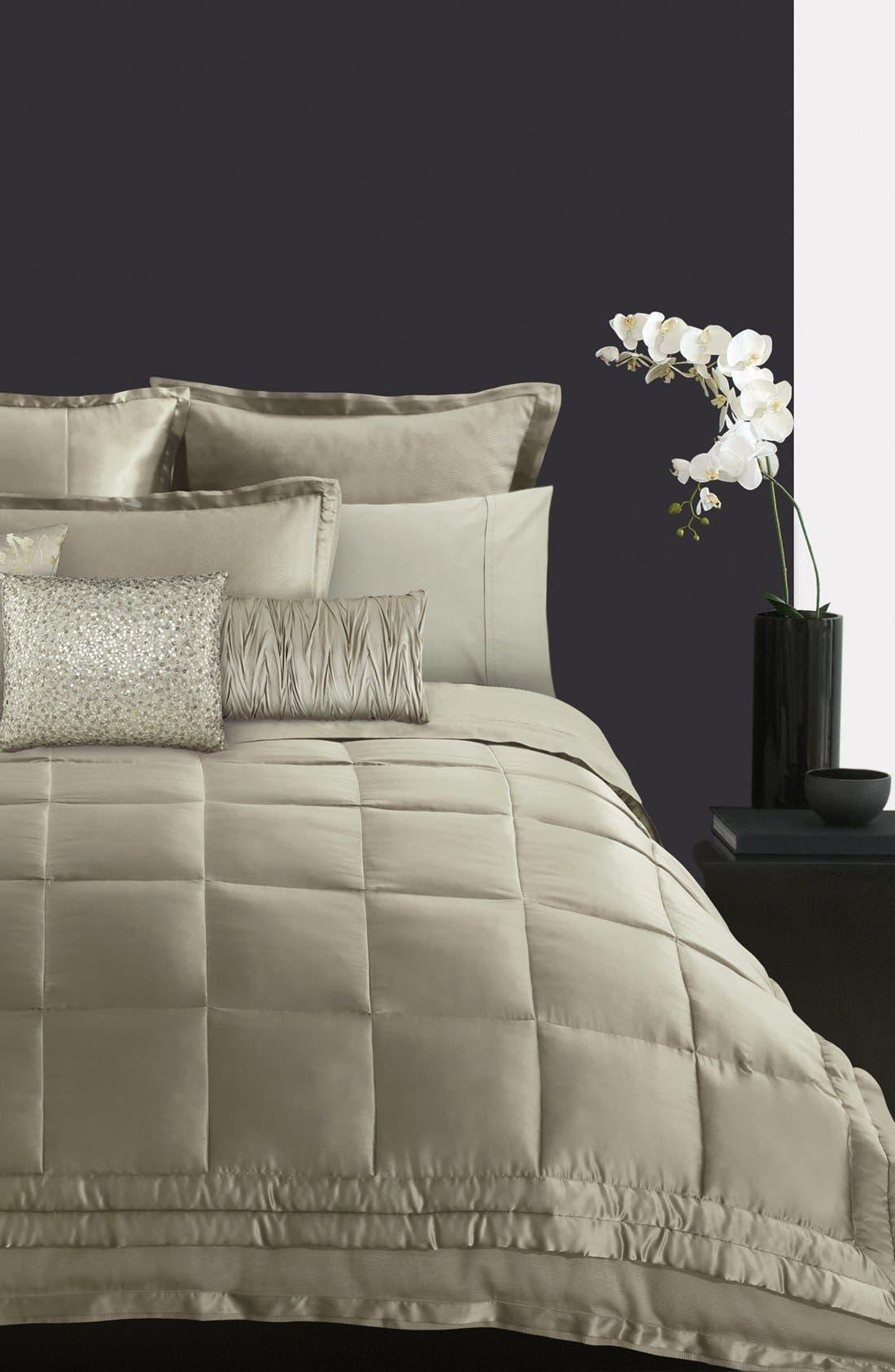 Alternate Image 1 Selected - Donna Karan 'Modern Classics' Silk & Cotton Quilt (Online Only)