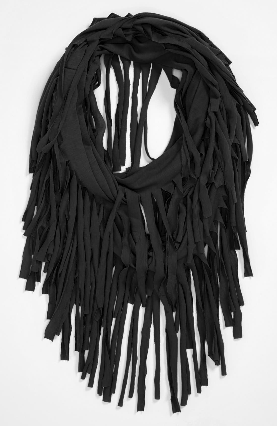 Alternate Image 1 Selected - Lulu Fringe Infinity Scarf