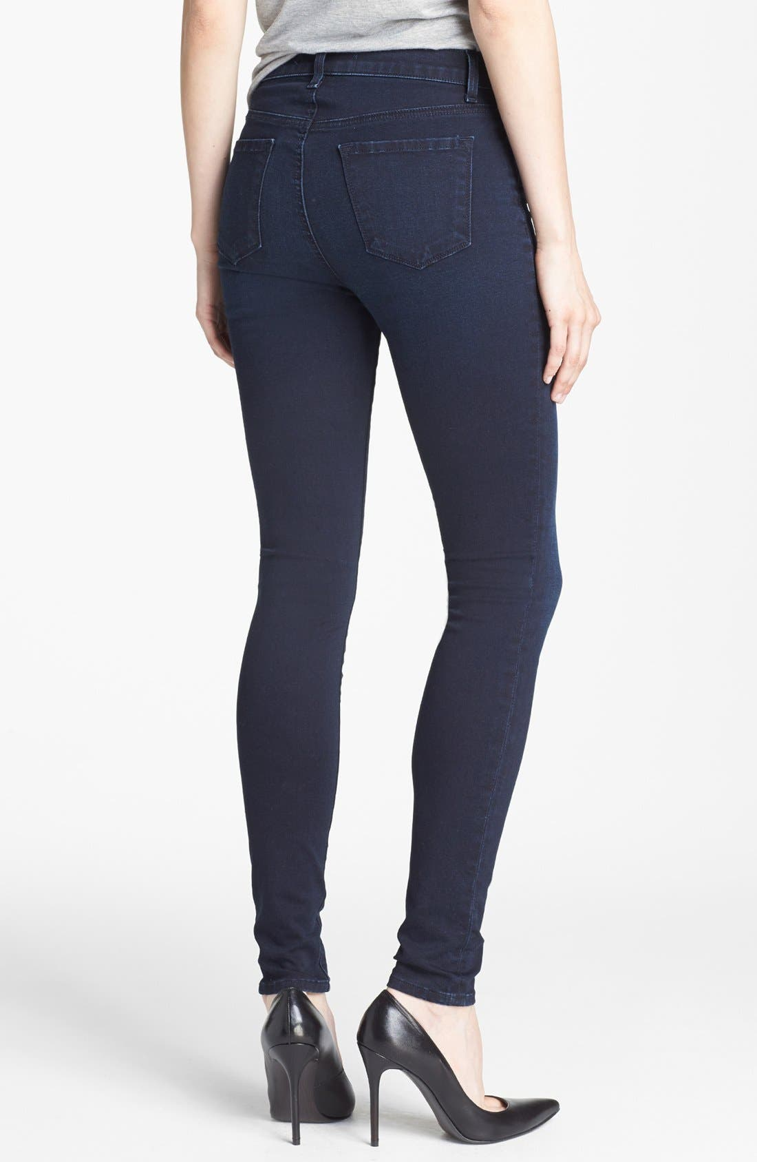 Alternate Image 2  - J Brand '2311 Maria' High Rise Skinny Jeans (Atmosphere)