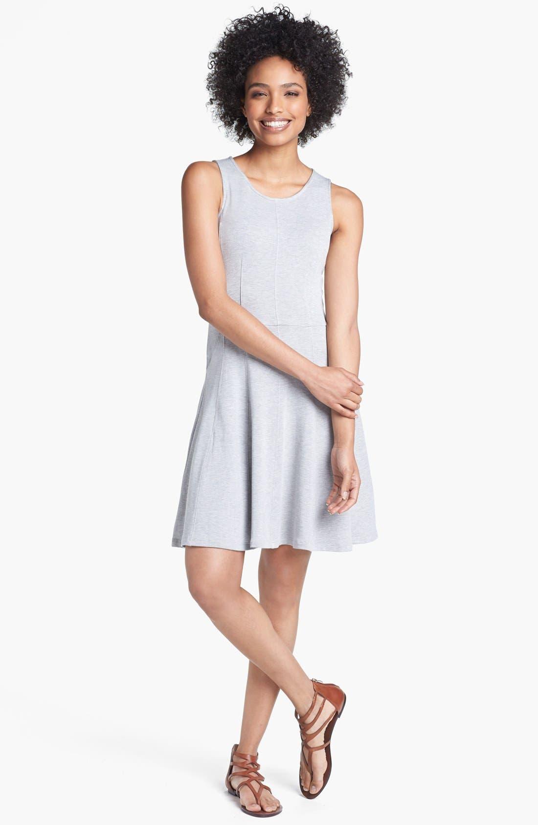 Main Image - Caslon® Knit Fit & Flare Dress
