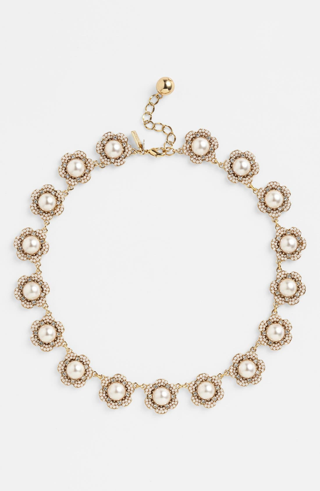Alternate Image 2  - kate spade new york 'park floral' collar necklace