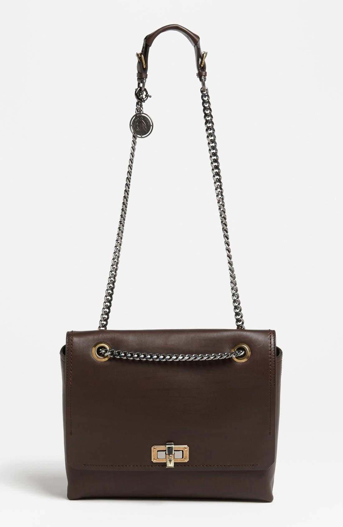 Main Image - Lanvin 'Happy - Medium' Leather Flap Shoulder Bag