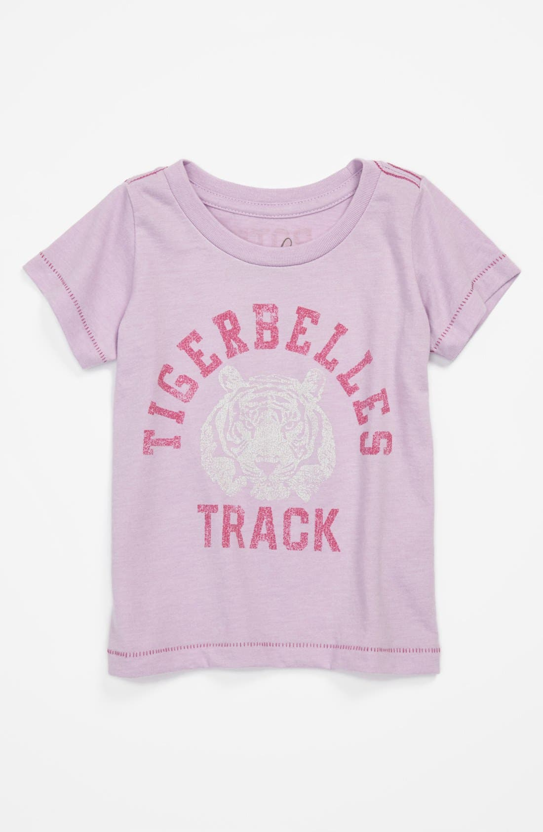 Alternate Image 1 Selected - Peek 'Tigerbelles' Tee (Baby Girls)