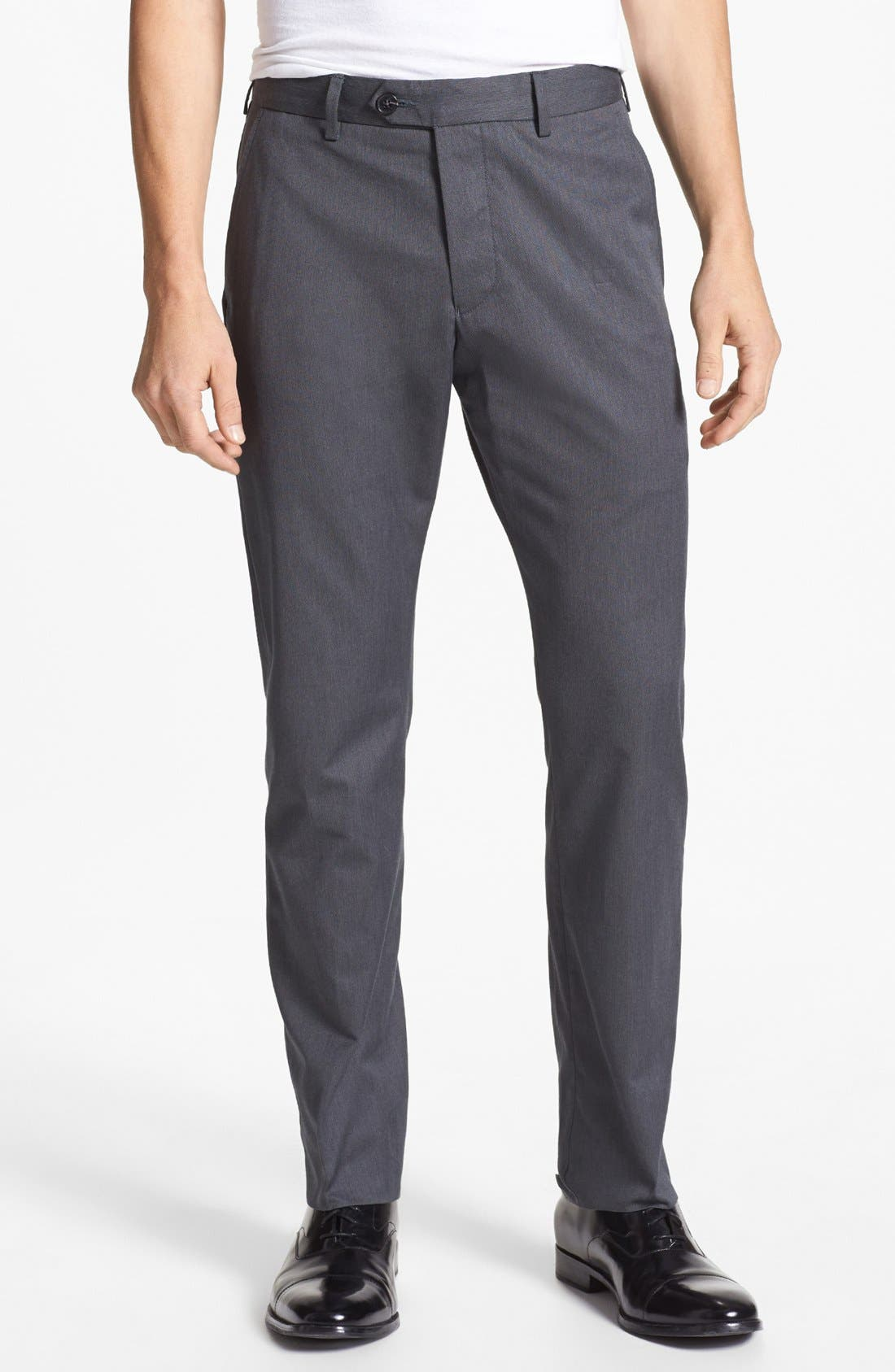 Alternate Image 1 Selected - French Connection Straight Leg Trousers