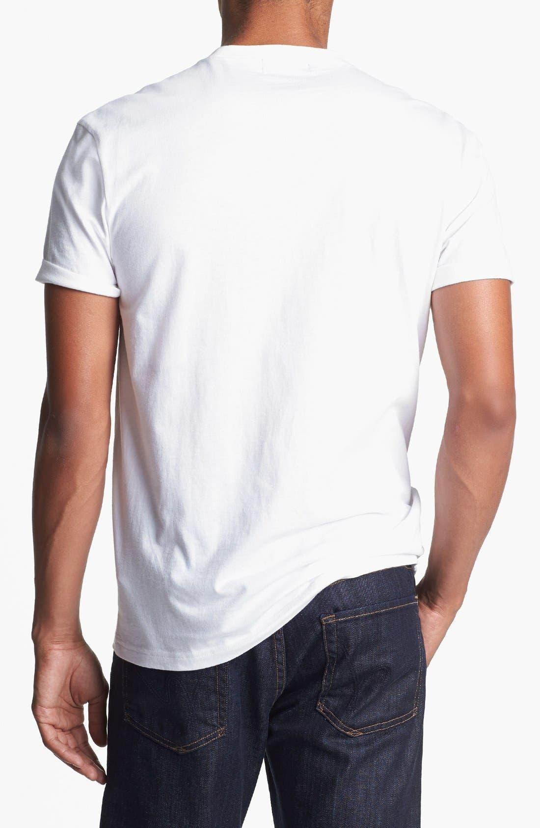 Alternate Image 2  - Topman Bolt Graphic T-Shirt