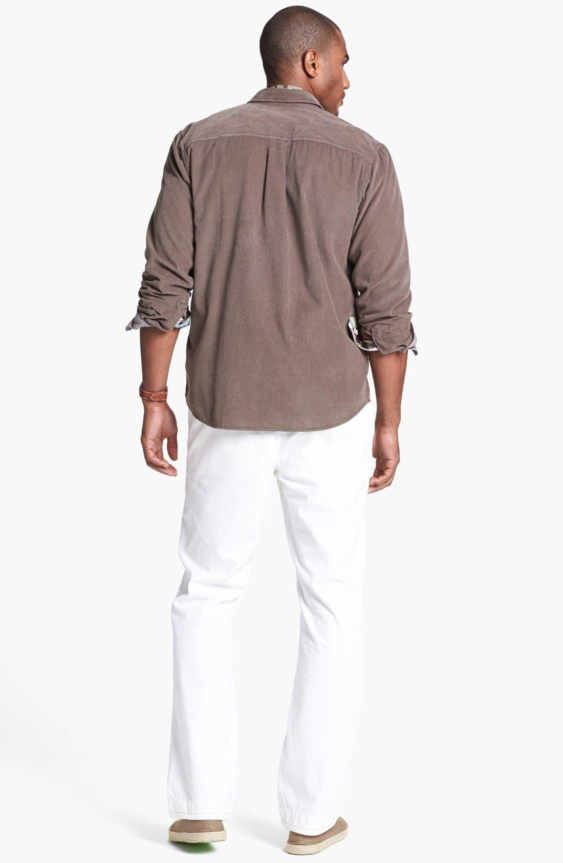 Alternate Image 5  - Tommy Bahama Denim 'Big Daddy' Island Modern Fit Sport Shirt