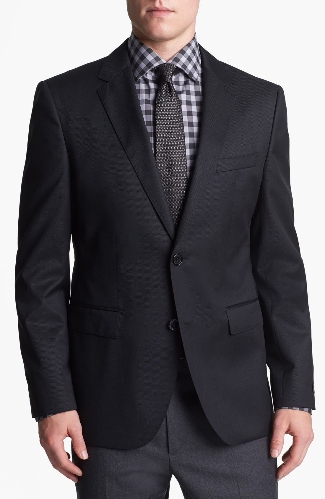 Alternate Image 1 Selected - BOSS HUGO BOSS 'The James 2' Trim Fit Wool Sportcoat