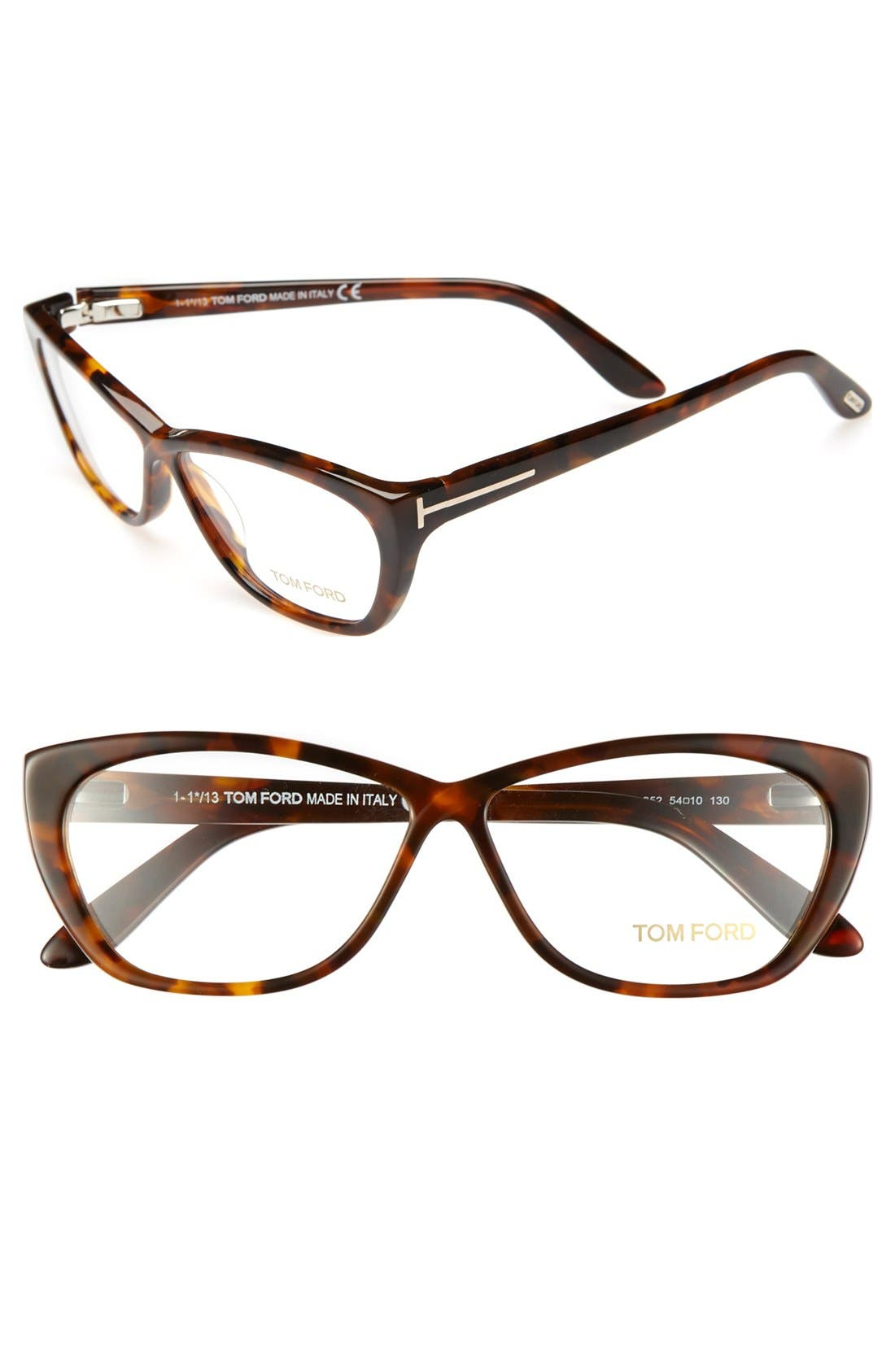 Main Image - Tom Ford 54mm Optical Glasses (Online Only)