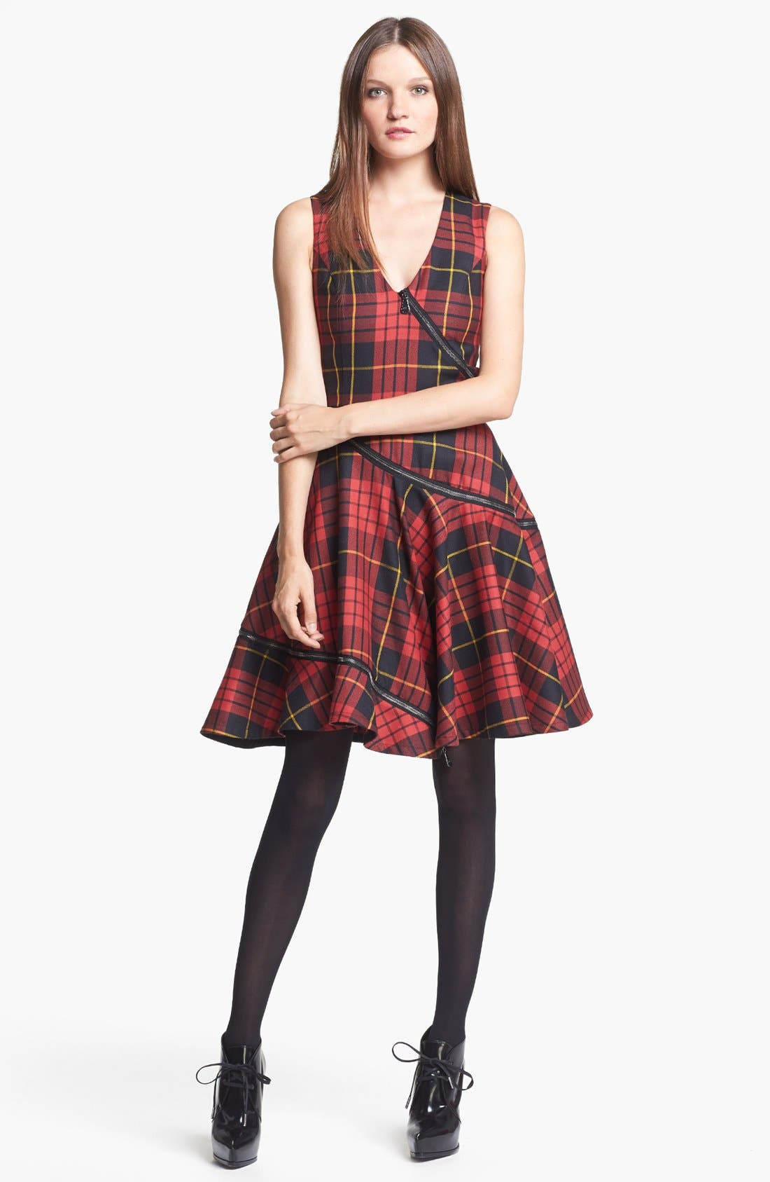 Main Image - McQ by Alexander McQueen Tartan Plaid Dress