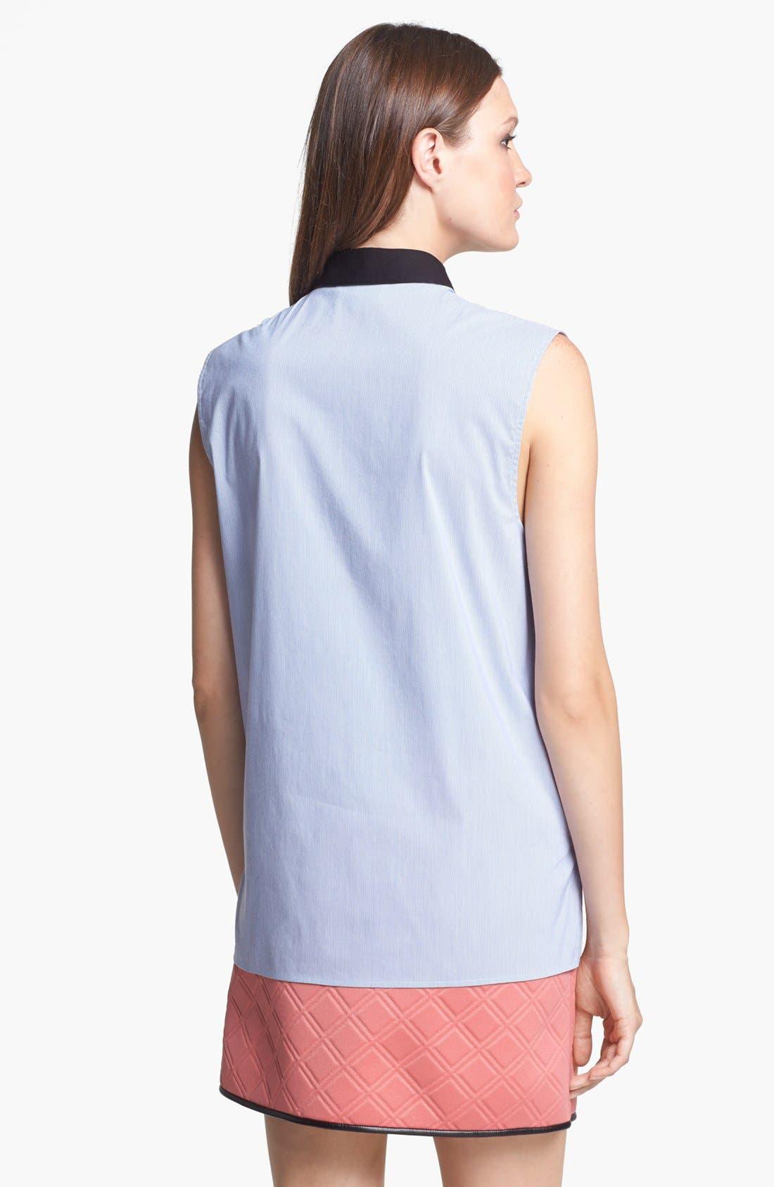Alternate Image 2  - 3.1 Phillip Lim Sleeveless Stripe Shirt