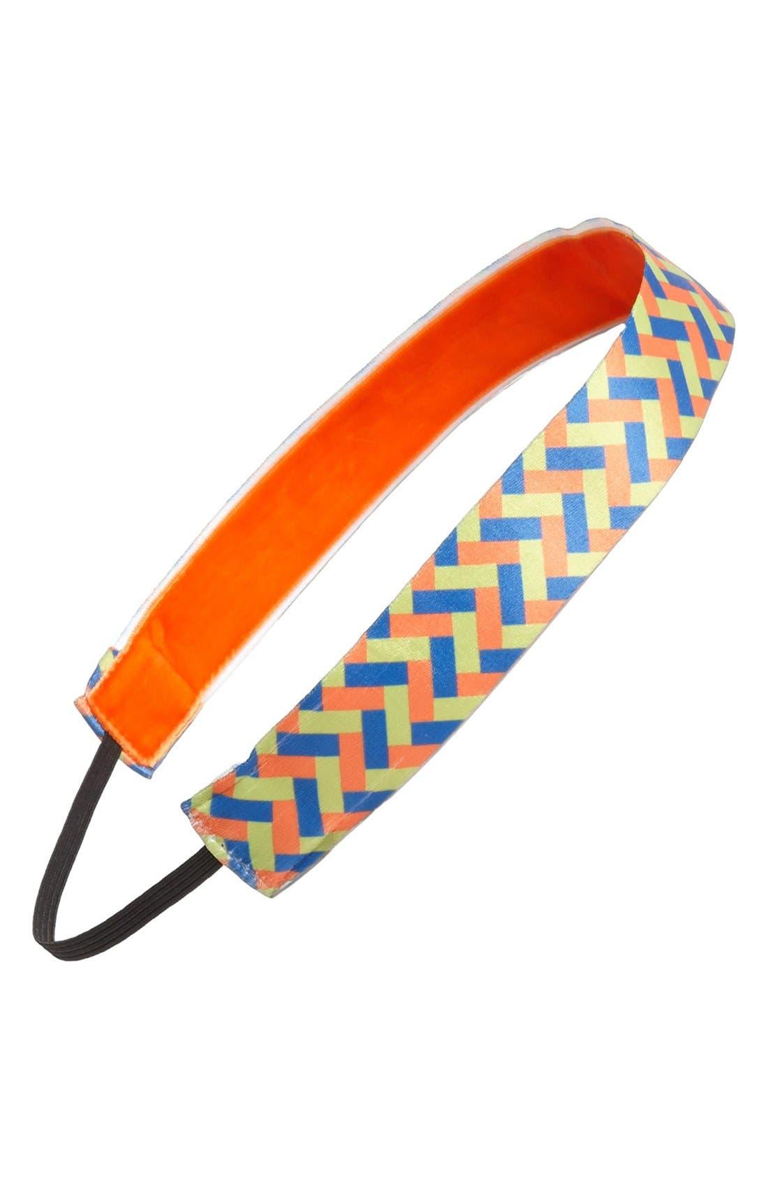 Alternate Image 1 Selected - Sweaty Bands 'Basket Weave' Head Wrap