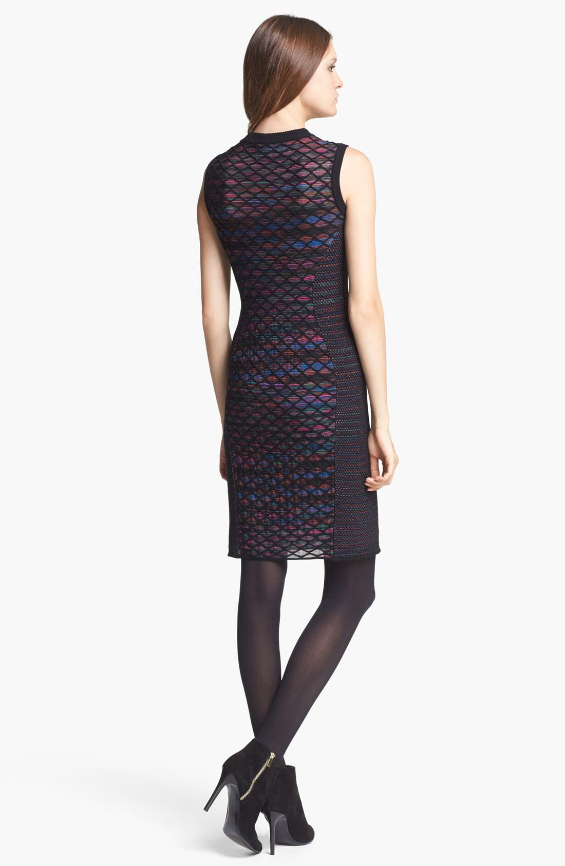 Alternate Image 2  - M Missoni Diamond Knit Shift Dress