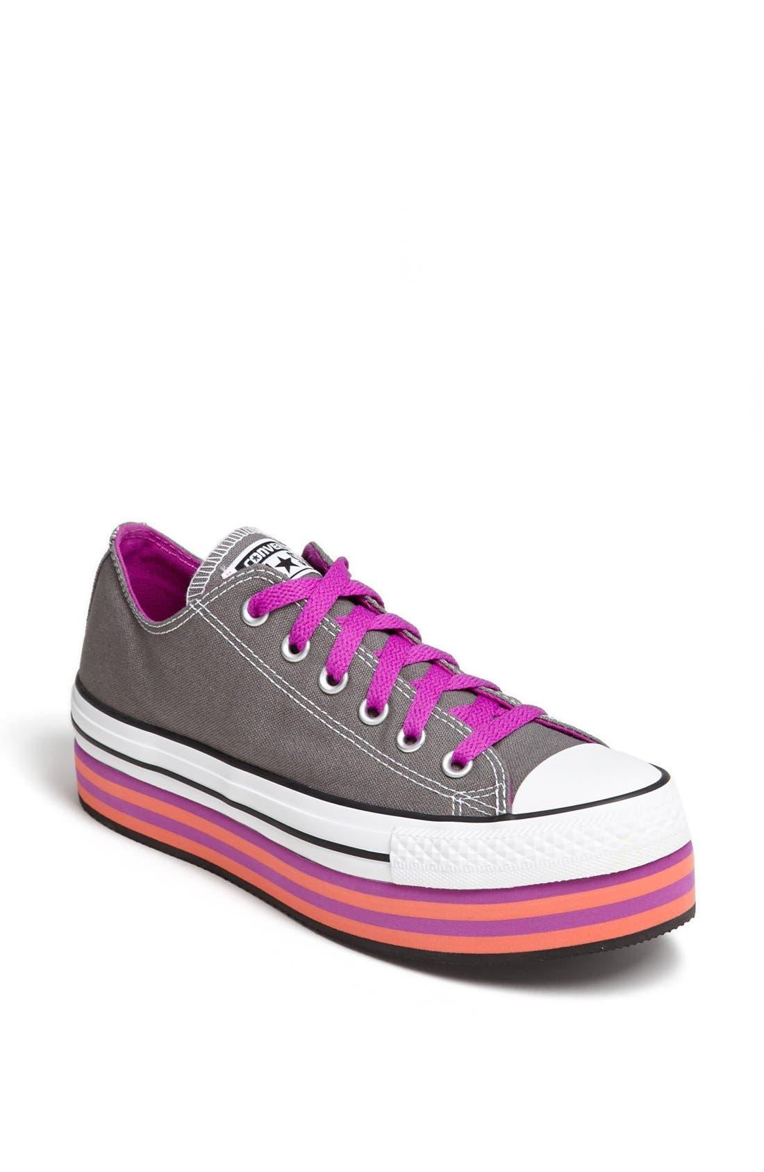 Alternate Image 1 Selected - Converse Chuck Taylor® All Star® Platform Sneaker (Women)