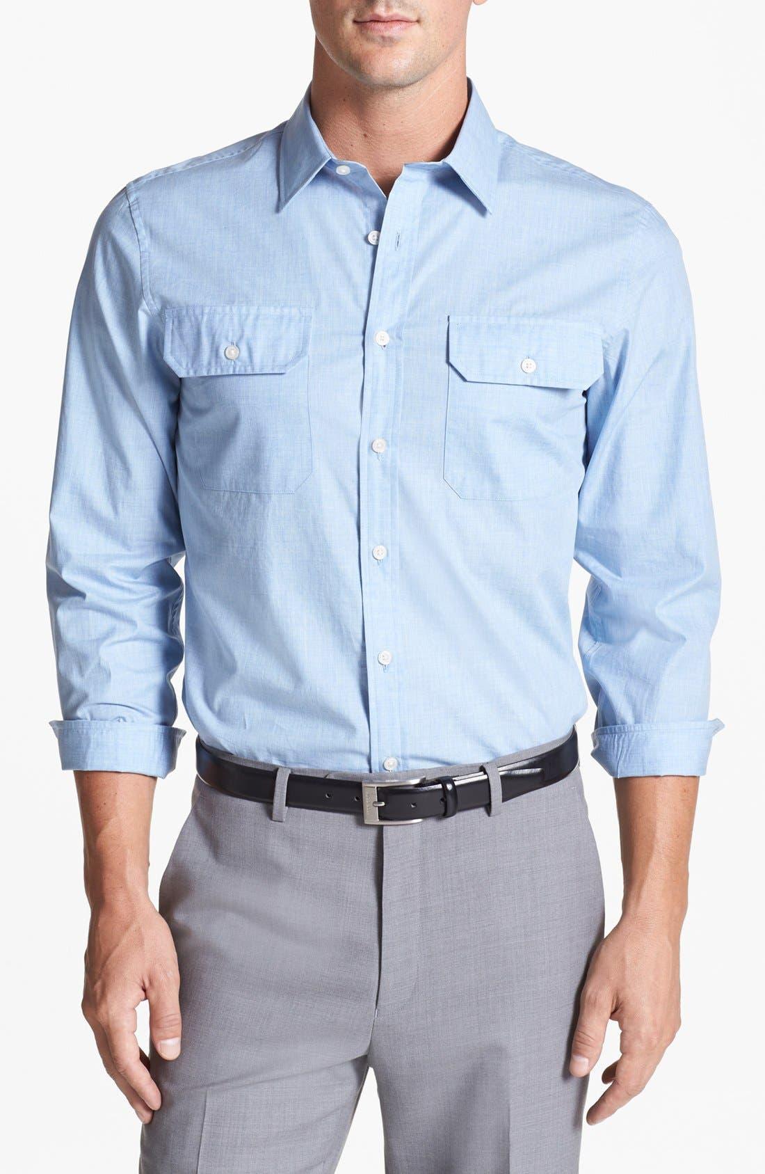 Main Image - Michael Kors Regular Fit Sport Shirt