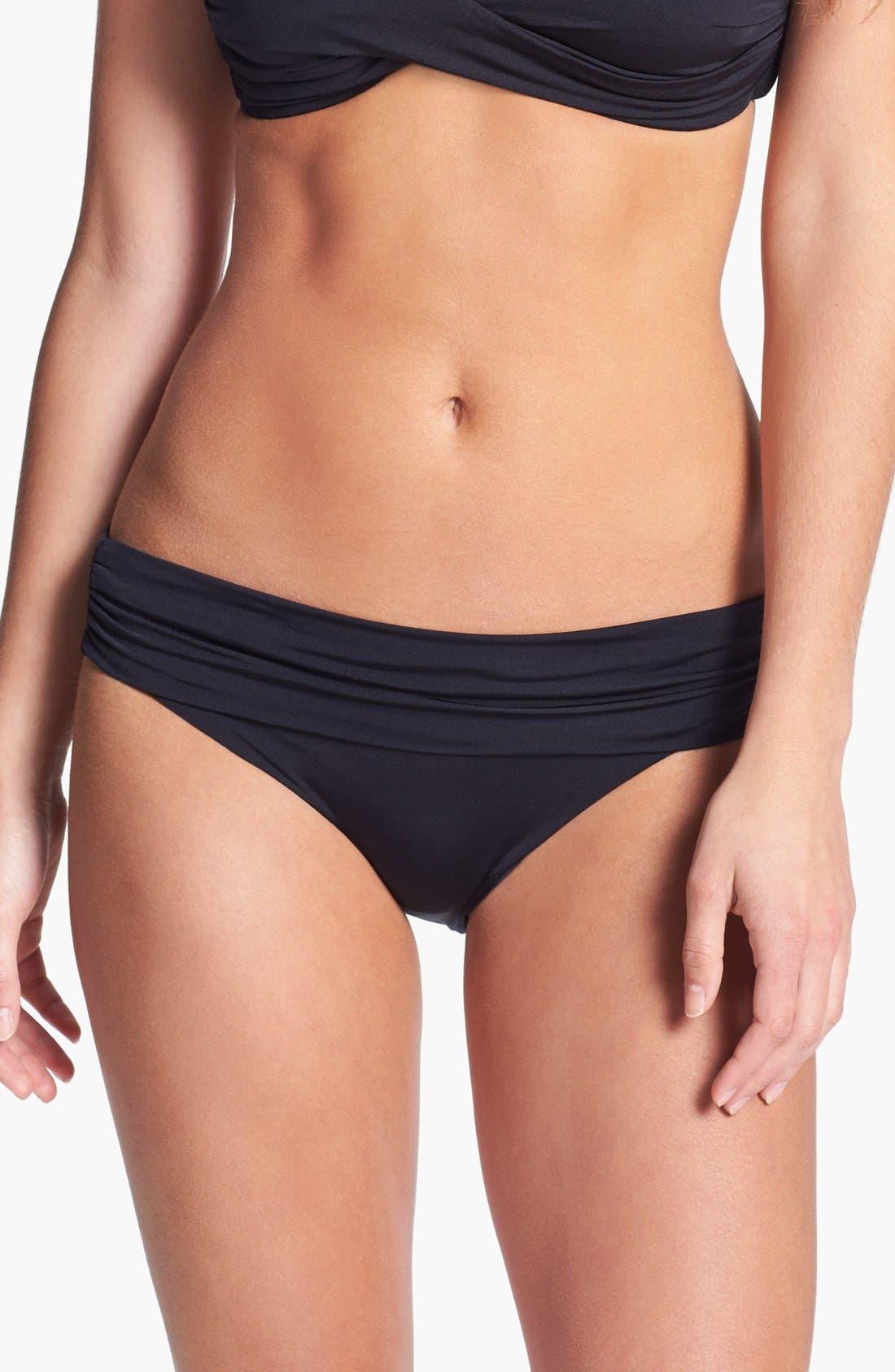 Main Image - Vitamin A® Convertible Waist Bikini Bottoms