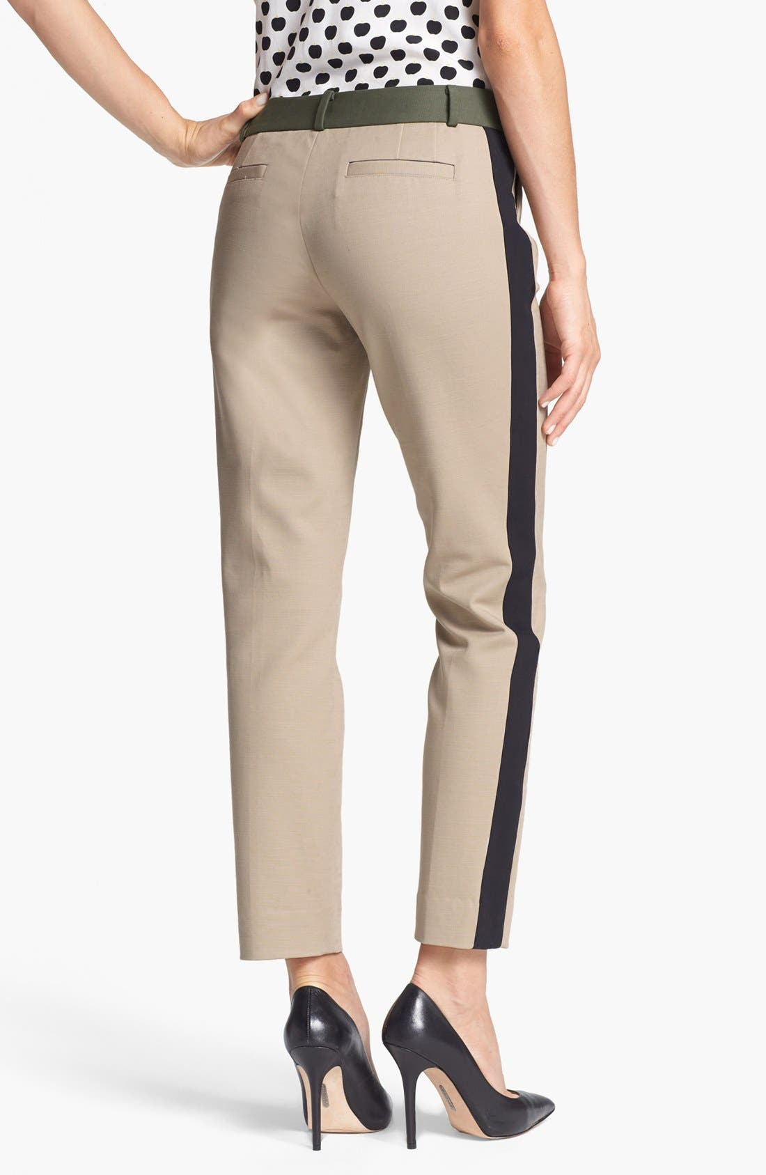 Alternate Image 2  - kate spade new york 'caden' stretch cotton pants