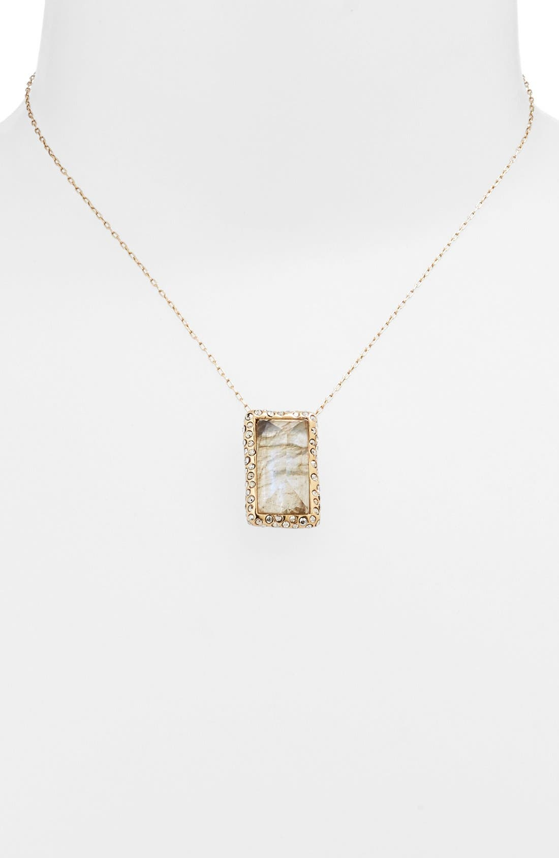Alternate Image 1 Selected - Alexis Bittar 'Miss Havisham' Pendant Necklace