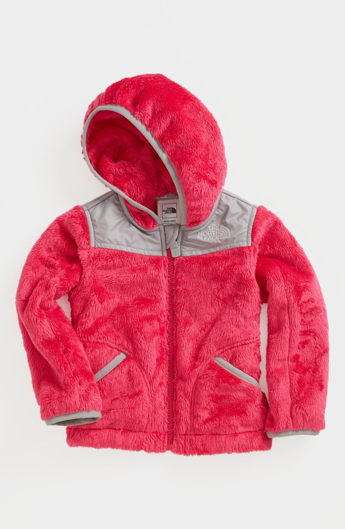 Main Image - The North Face 'Oso' Hooded Fleece Jacket (Toddler Girls)