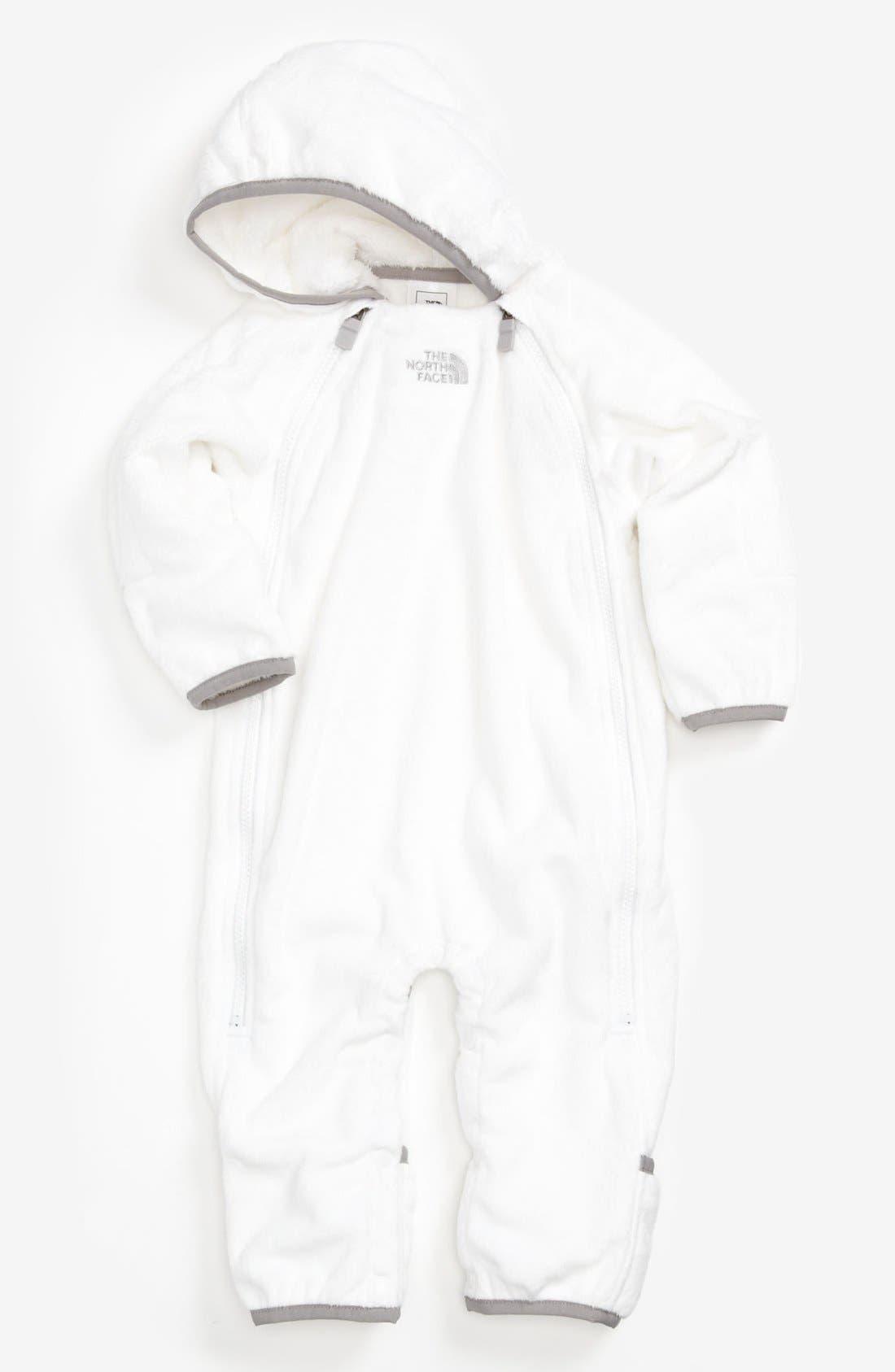 'Buttery' Fleece Bunting,                         Main,                         color, Tnf White