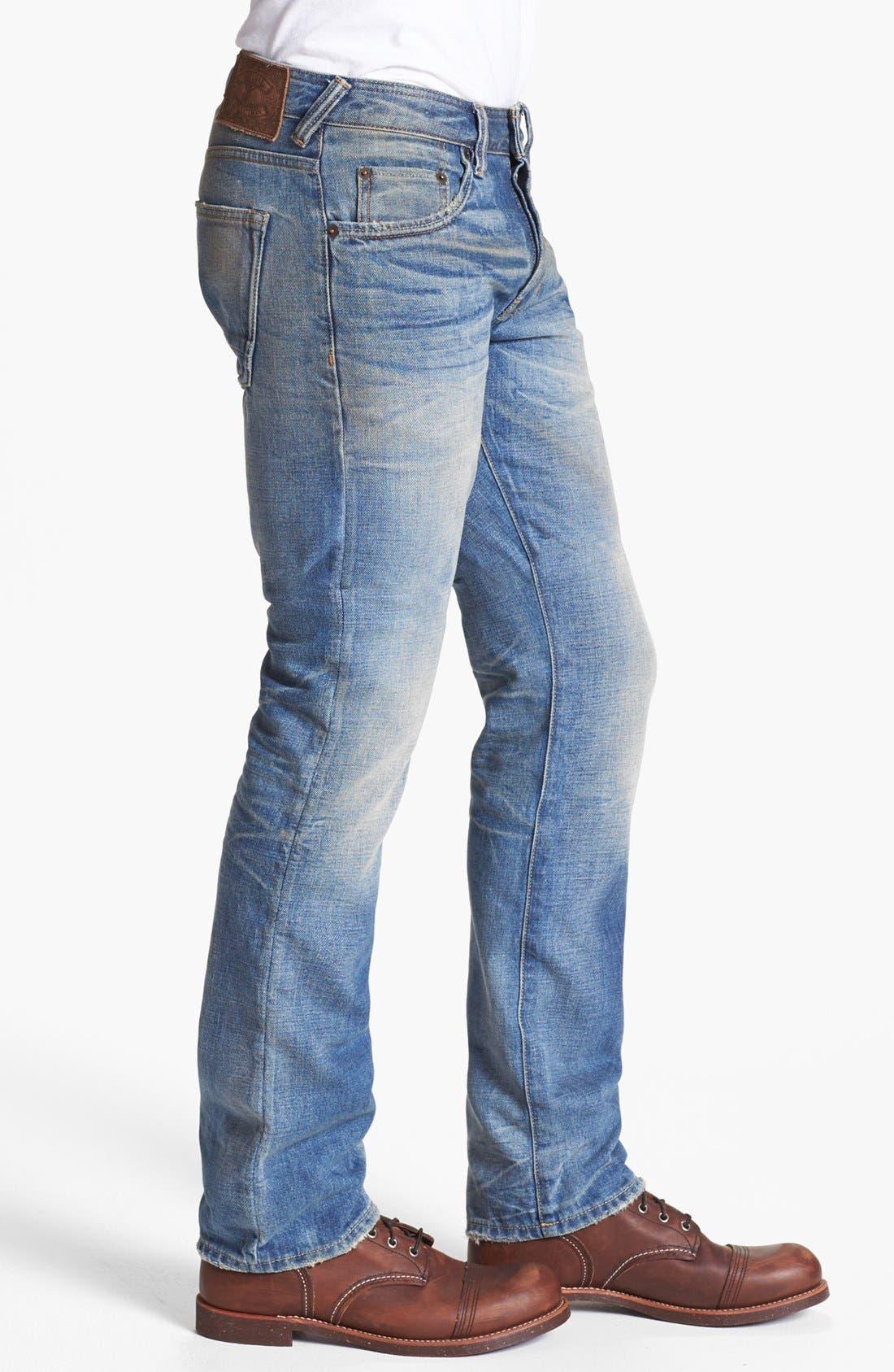 Alternate Image 3  - Natural Selection Denim Straight Leg Jeans (Gamma)