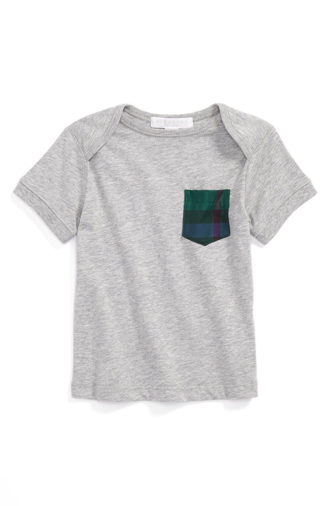 Main Image - Burberry 'Callum' T-Shirt (Baby Boys)