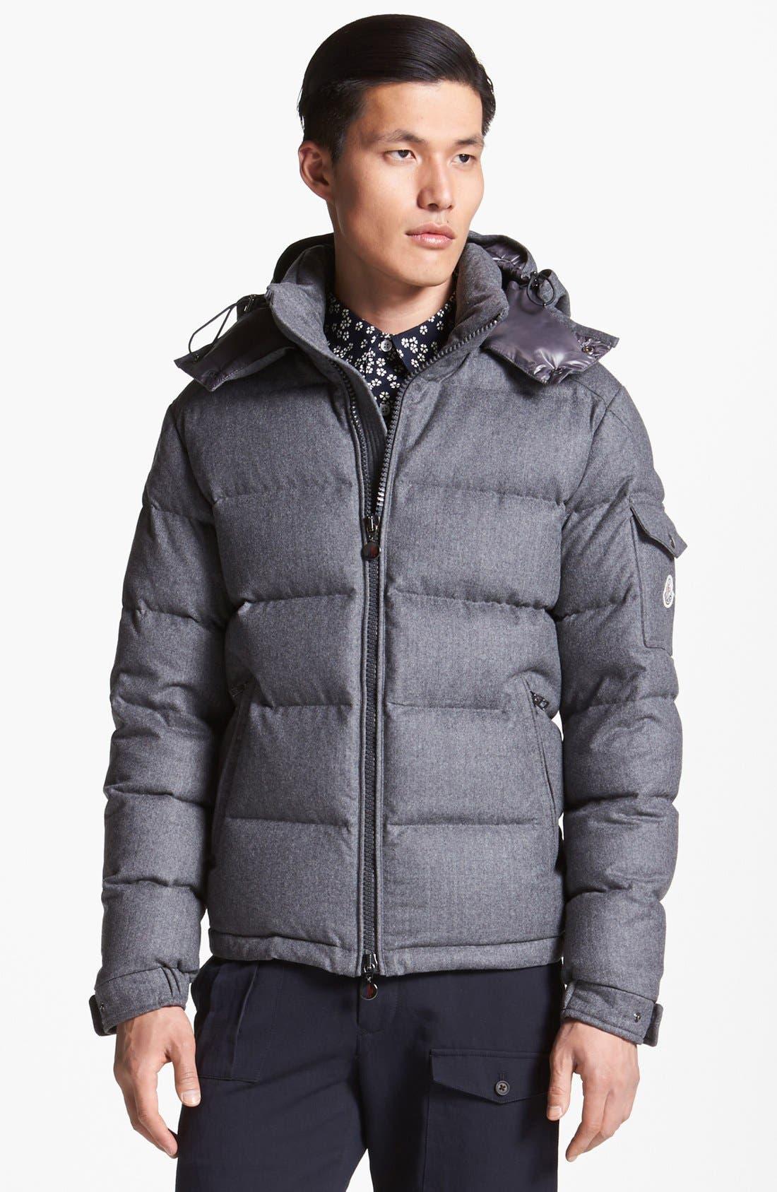 Main Image - Moncler 'Mongenevre' Wool Down Jacket