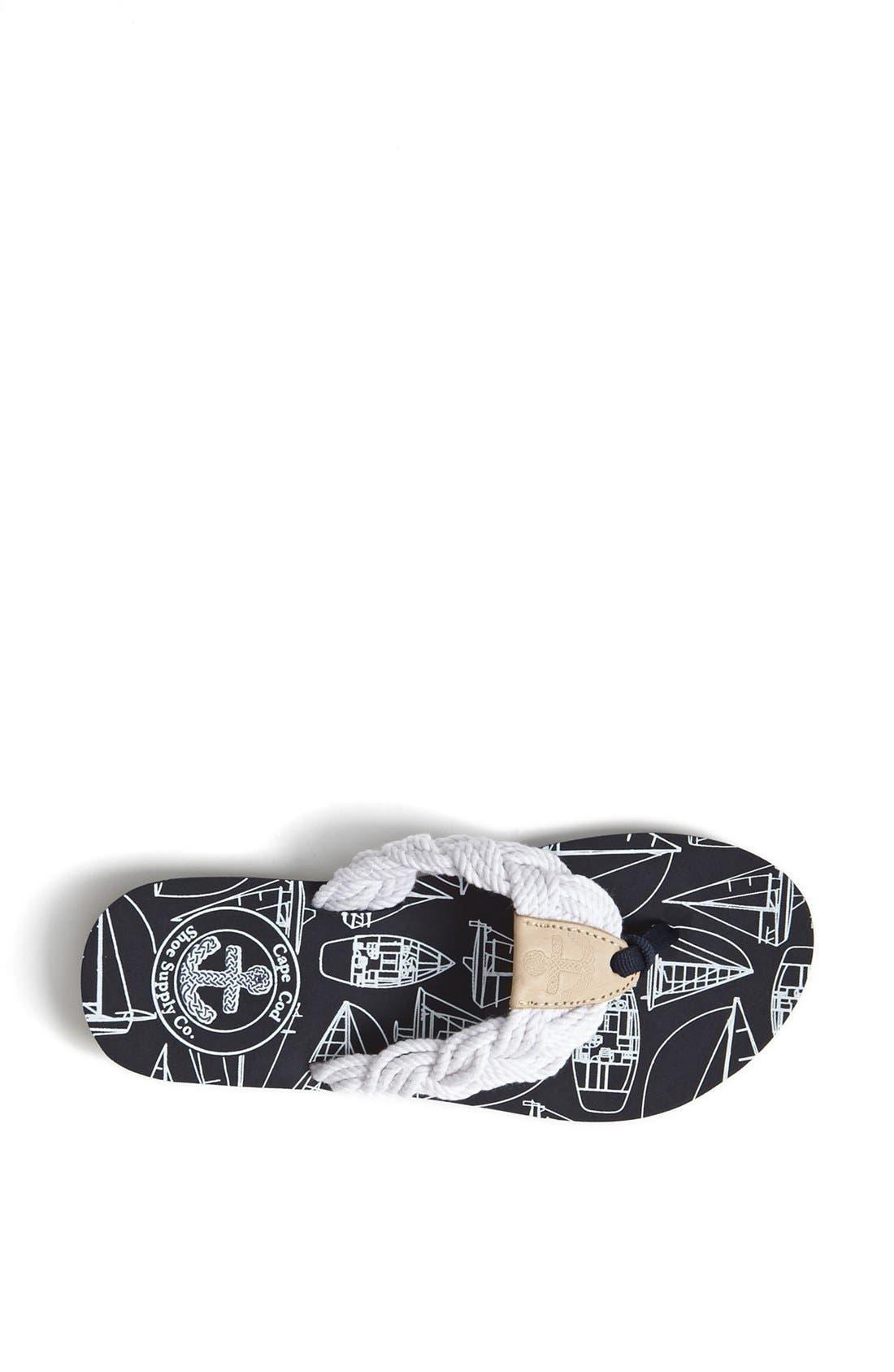 Alternate Image 3  - Cape Cod Shoe Supply Co. 'Mainsail' Flip Flop