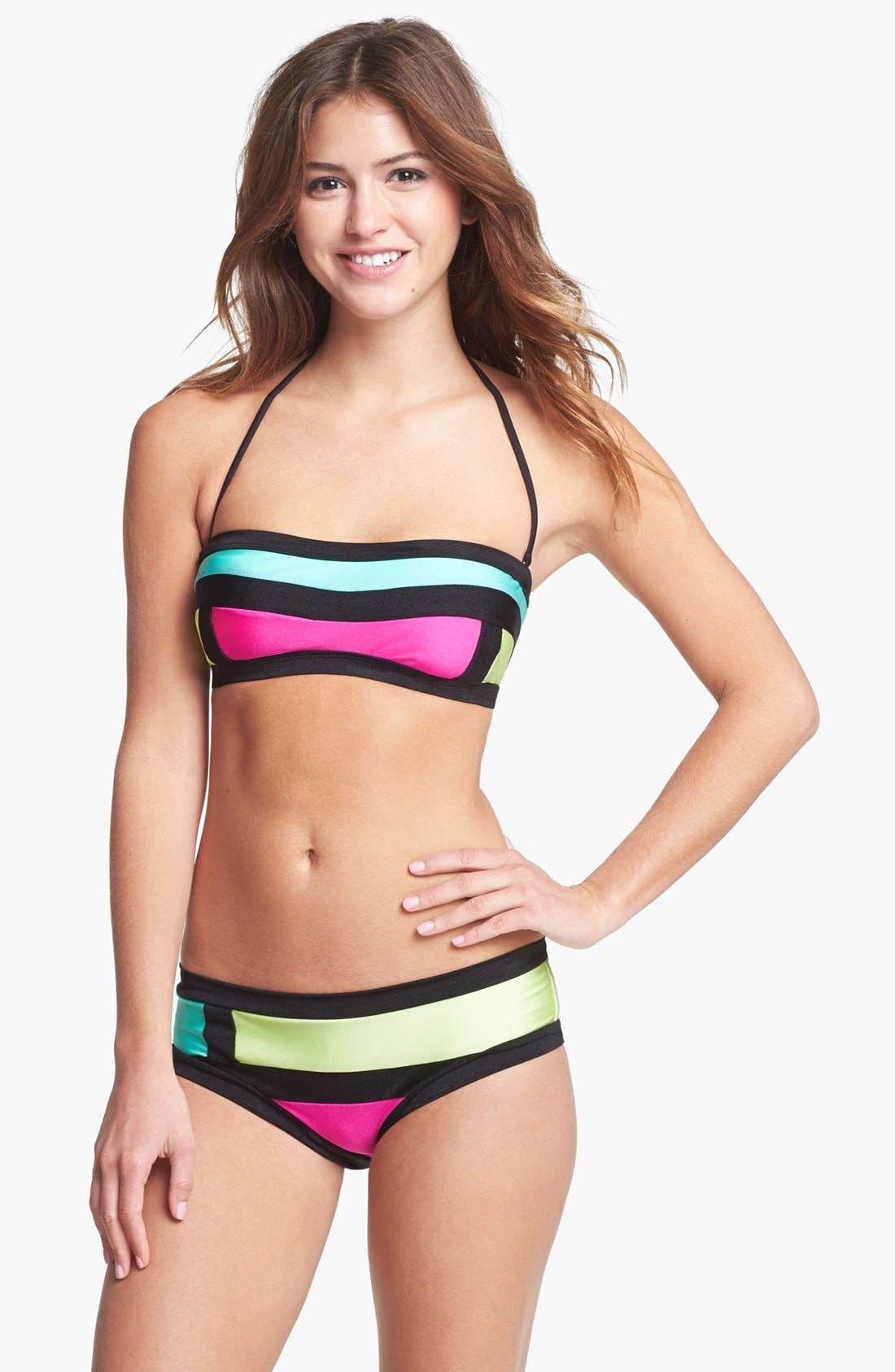 Alternate Image 3  - The Bikini Lab 'Party Blocking' Bikini Top
