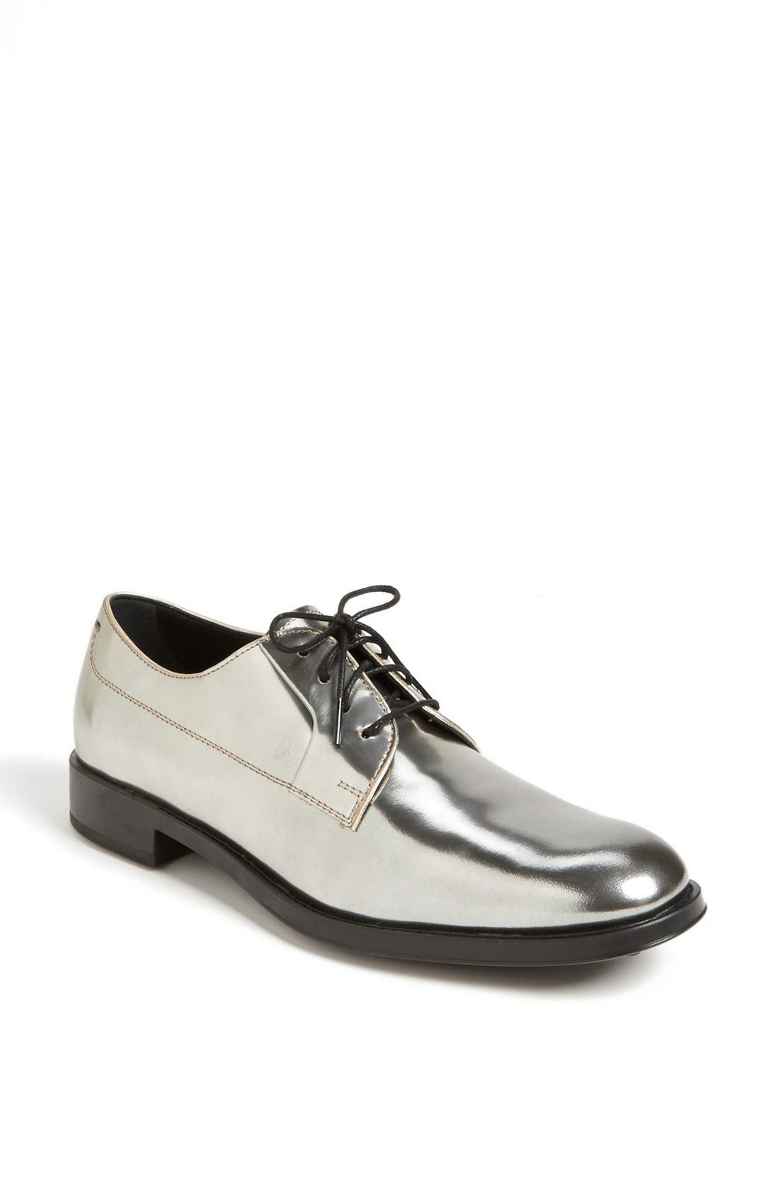 Alternate Image 1 Selected - Tod's 'Gomma' Metallic Oxford