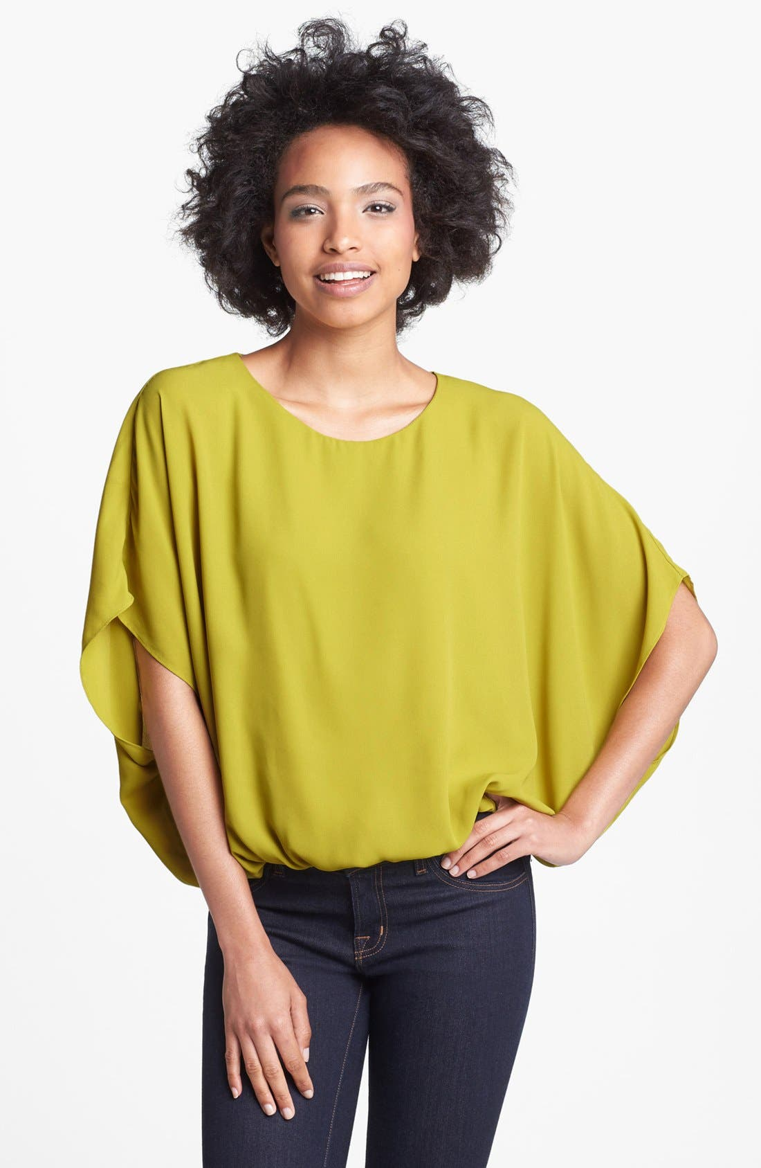 Alternate Image 1 Selected - Vince Camuto Batwing Blouse