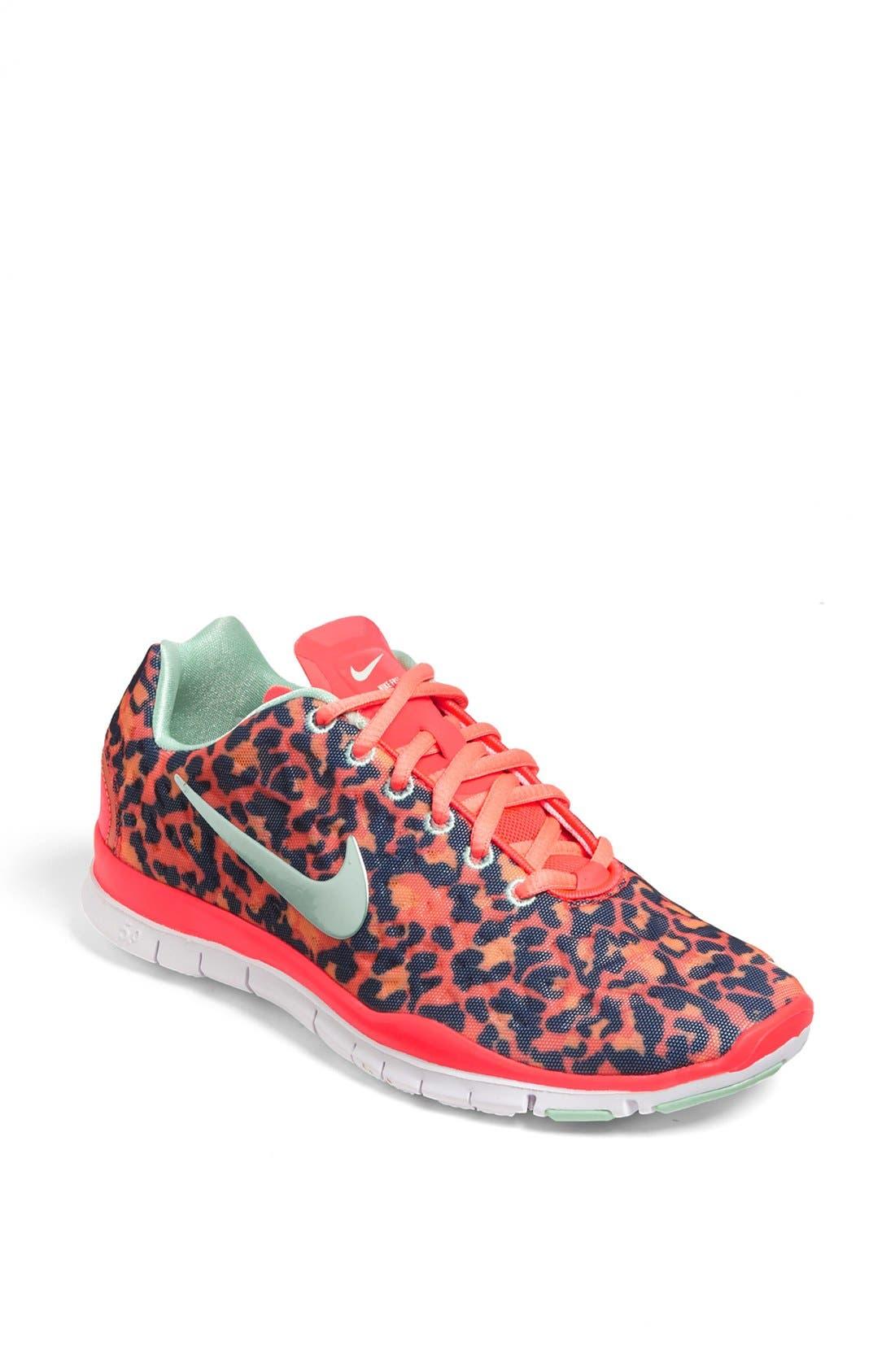 Main Image - Nike 'Free TR Fit 3 Print' Training Shoe (Women)