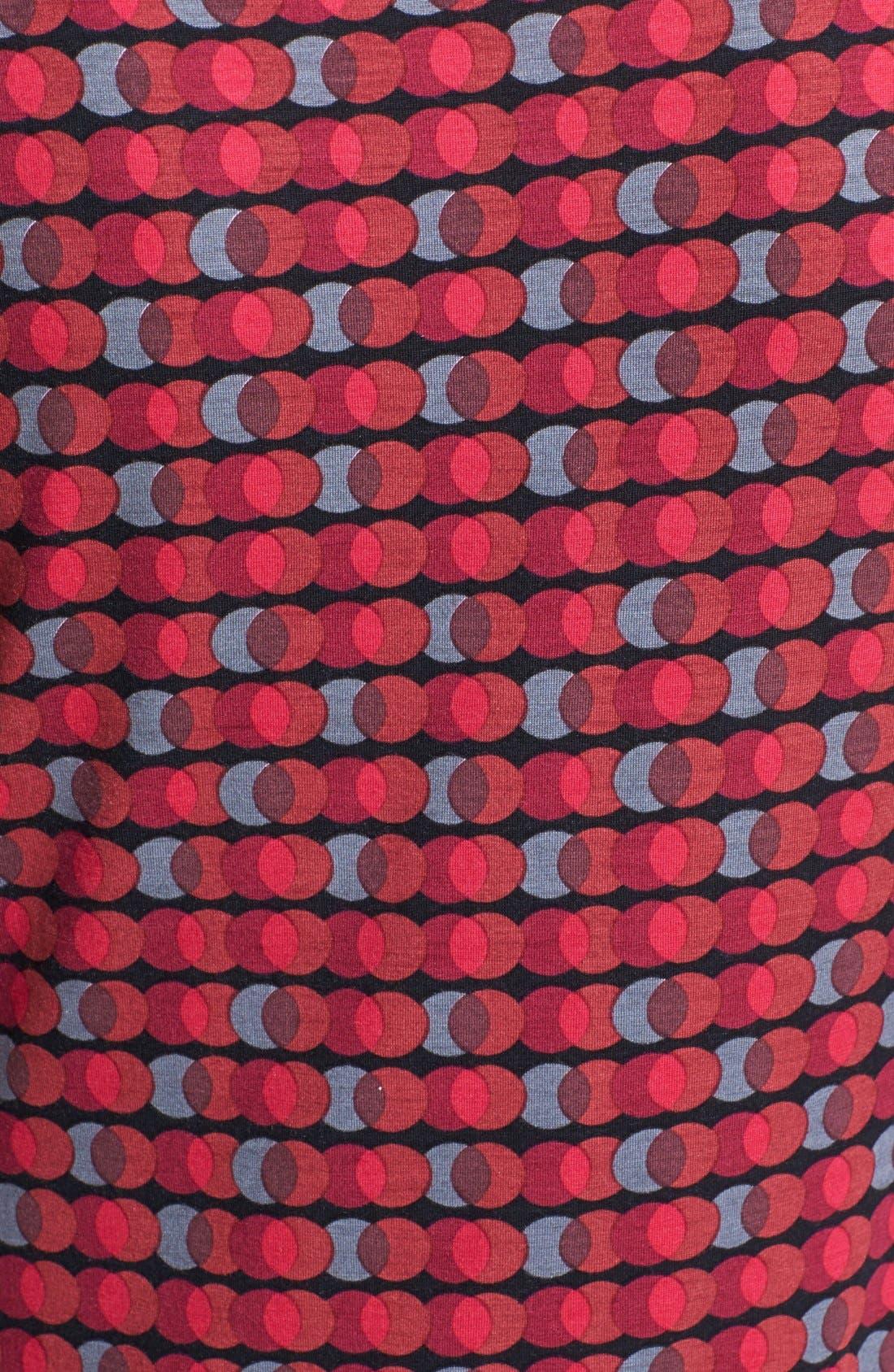 Alternate Image 3  - Halogen® Draped Stretch Modal Top (Regular & Petite)