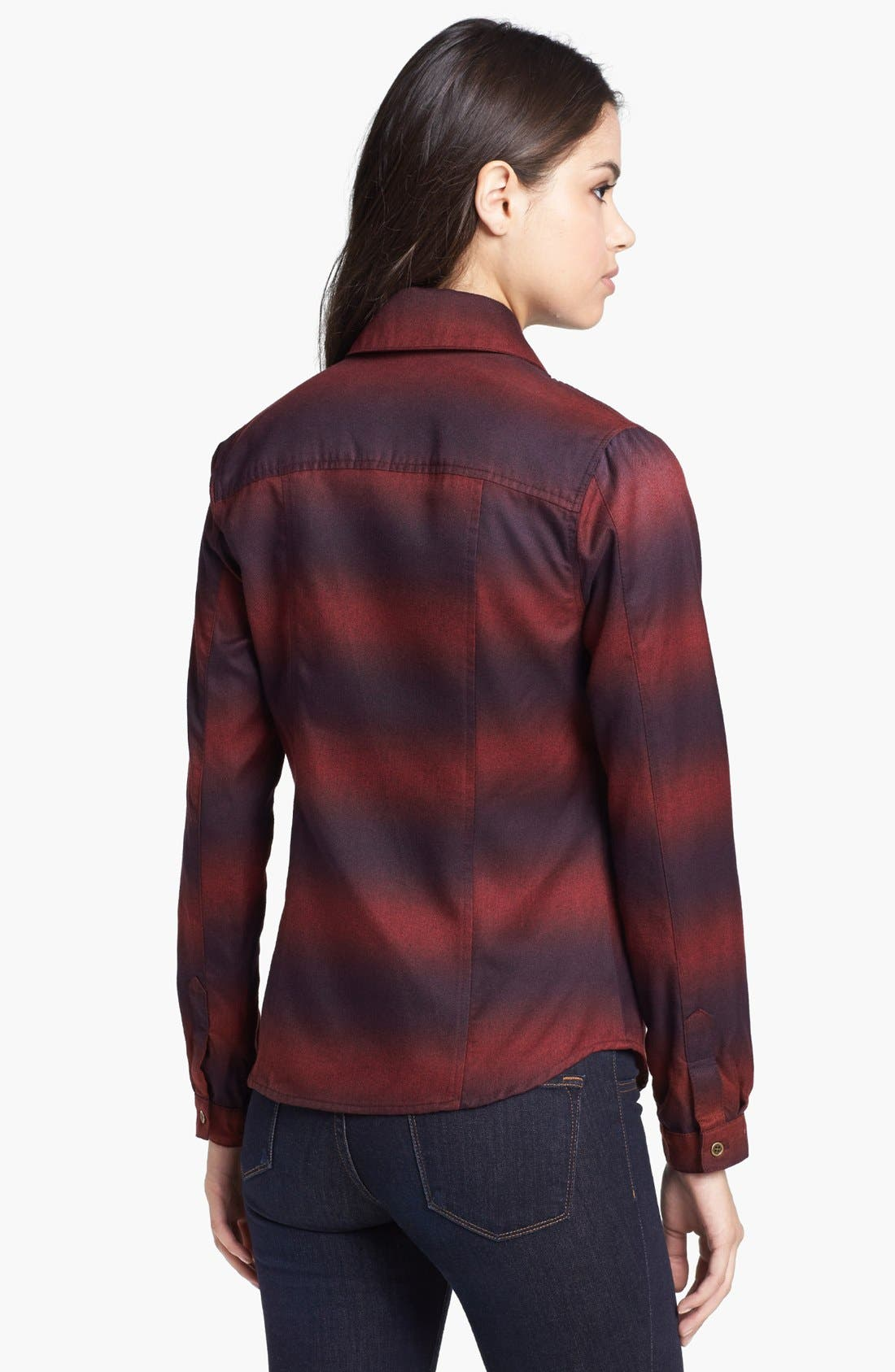 Alternate Image 2  - KUT from the Kloth 'Eleanor' Ombré Western Shirt