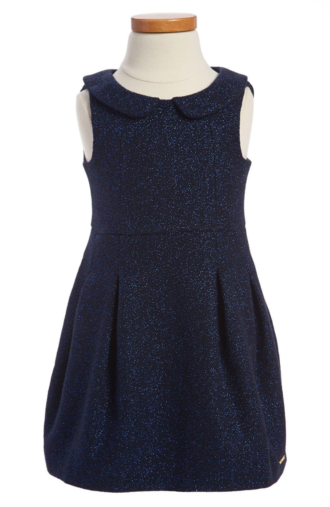 Main Image - LITTLE MARC JACOBS Sleeveless Dress (Toddler Girls)