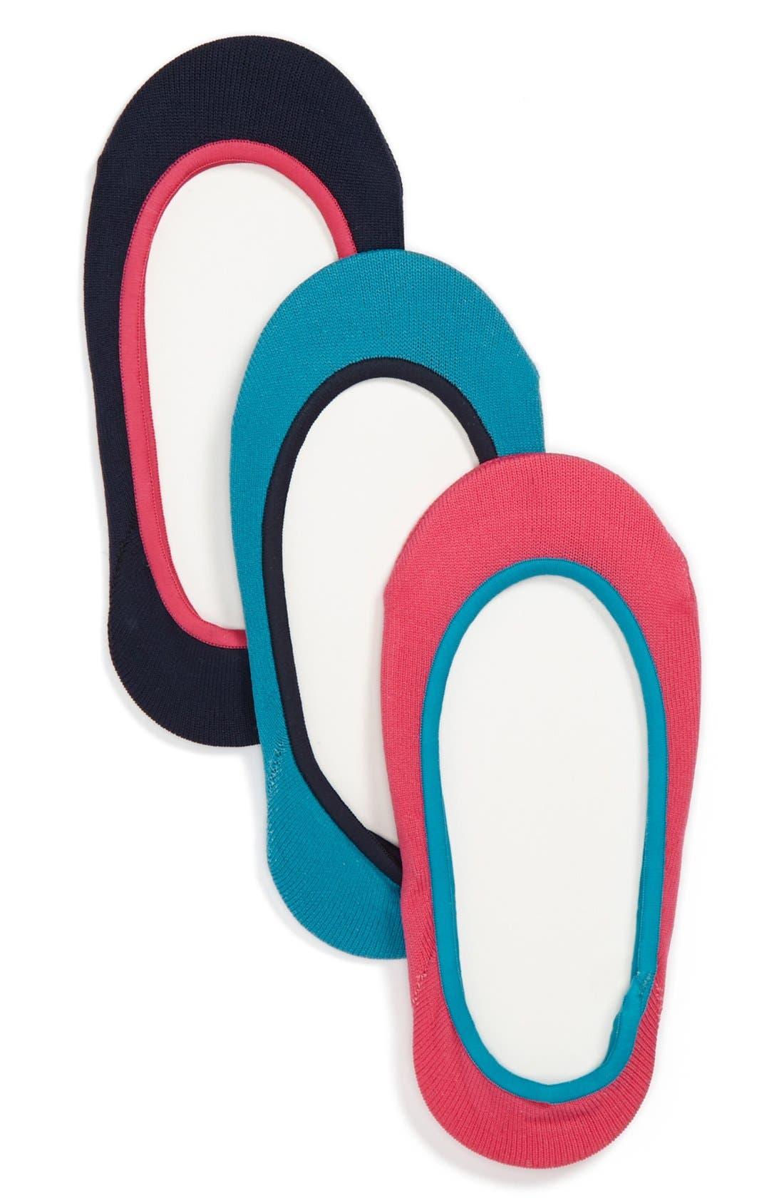 Main Image - Nordstrom Liner Socks (3-Pack) (Toddler & Little Girls)