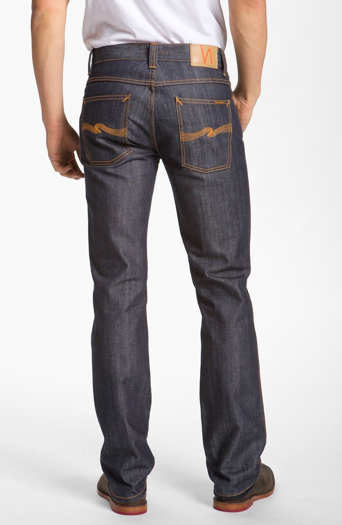 Alternate Image 2  - Nudie Jeans 'Slim Jim' Slim Fit Jeans (Organic Dry Broken Twill)