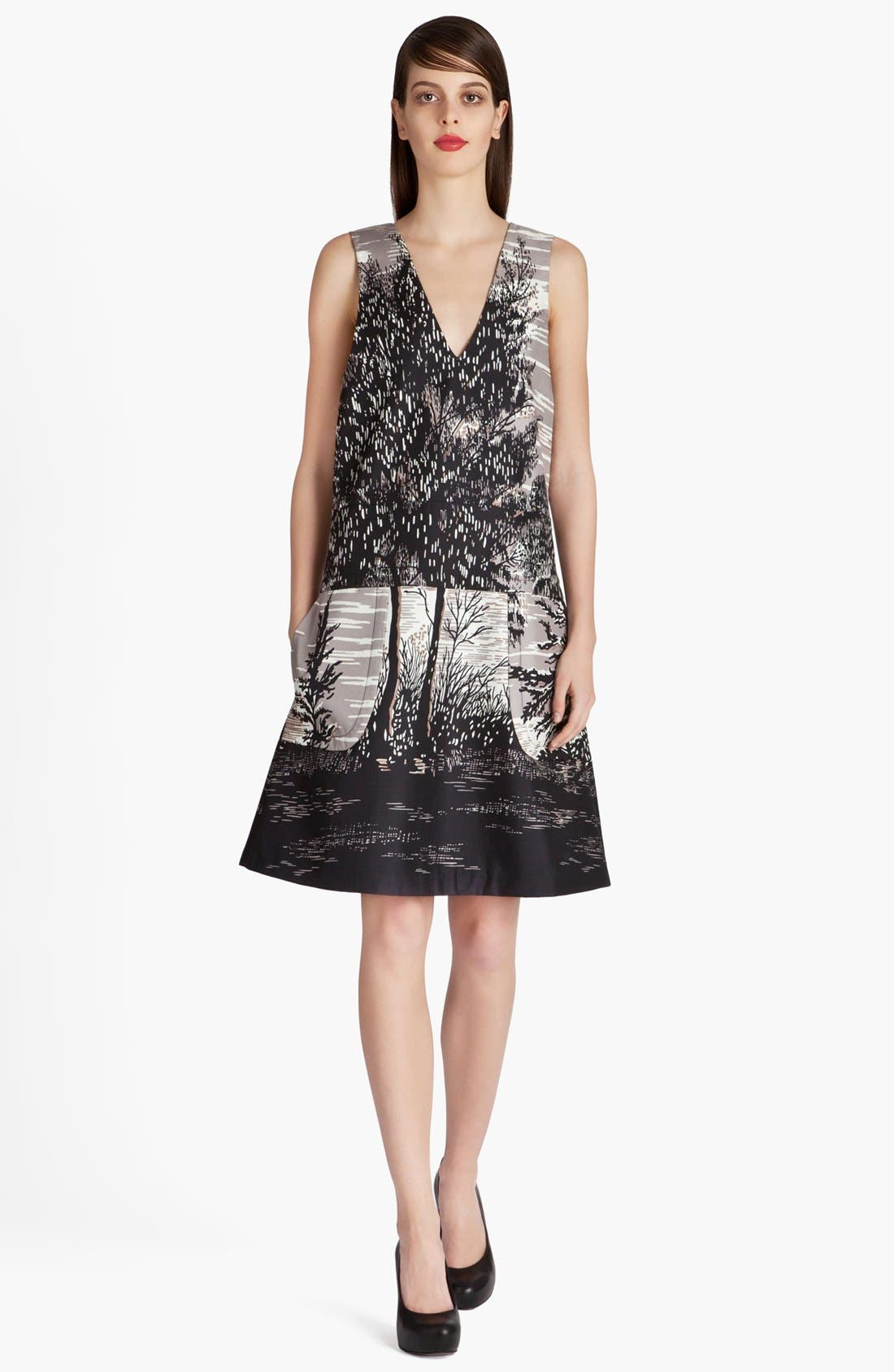 Alternate Image 1 Selected - Marni Treescape Print Dress