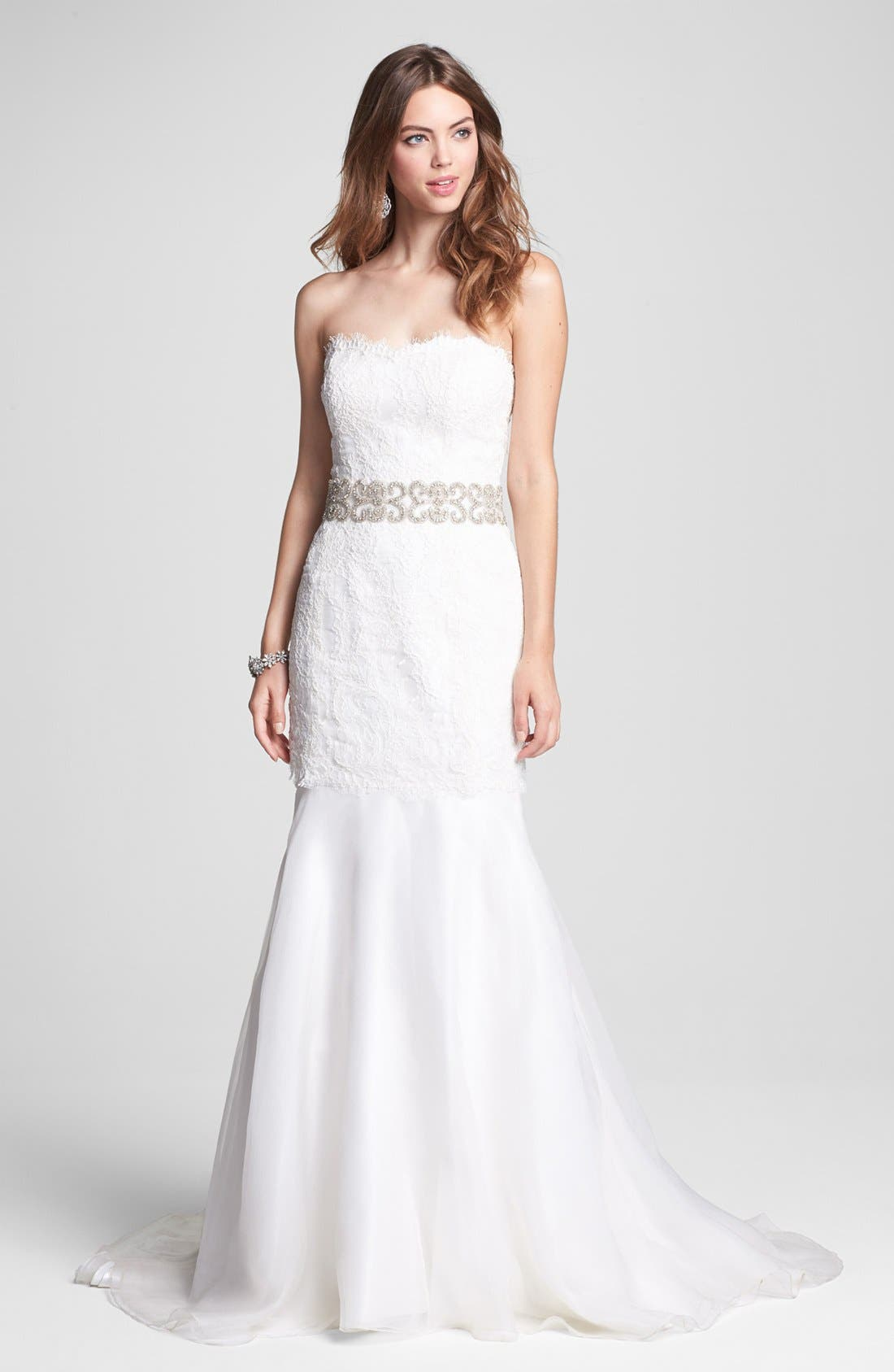 Alternate Image 3  - Cara Crystal Bridal Belt