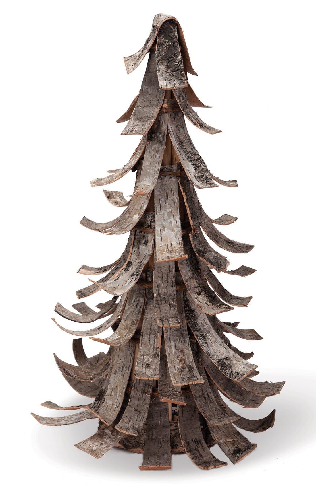 Main Image - Foreside Birch Bark Tree Decoration