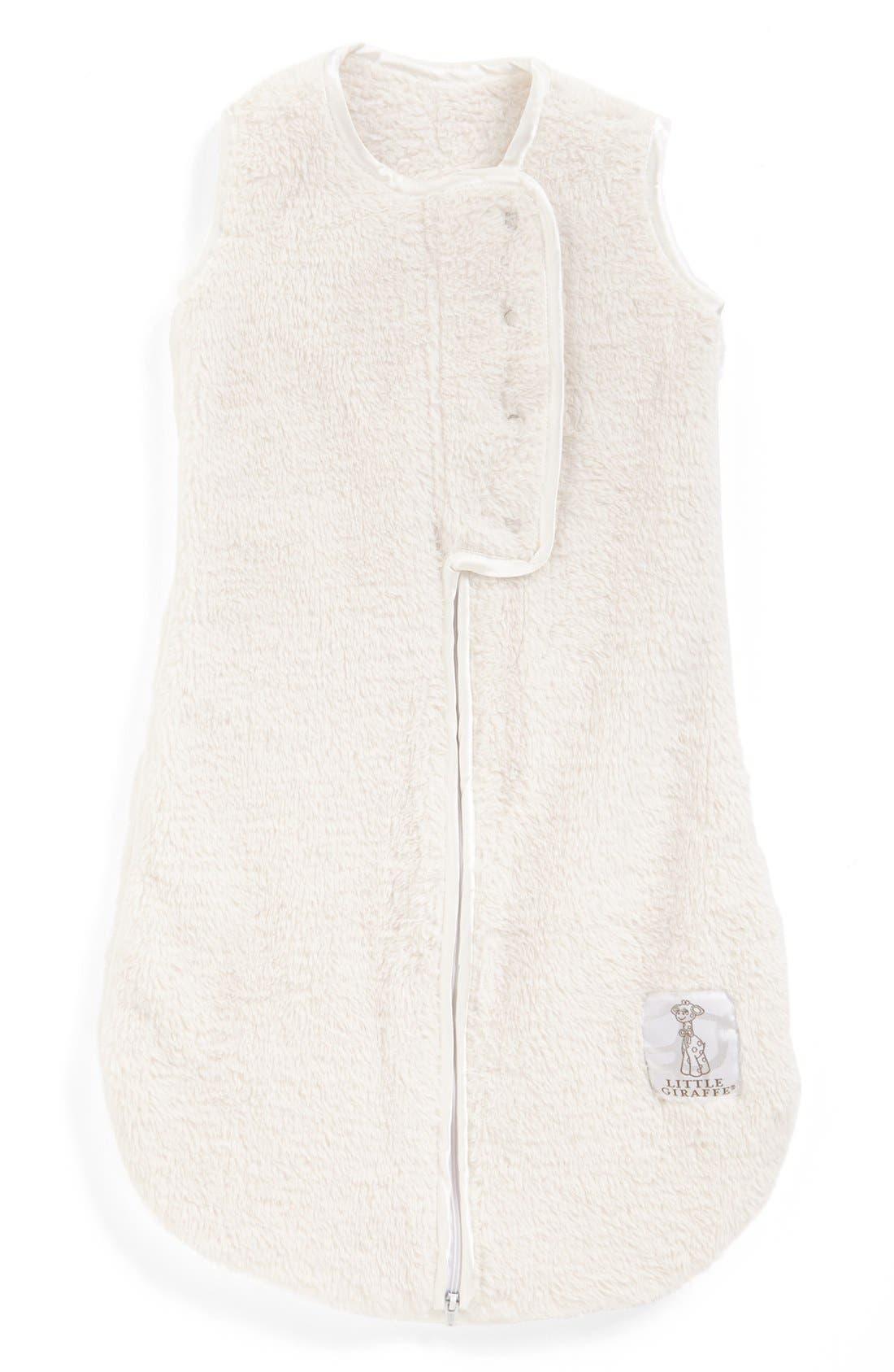 Dream Sack<sup>™</sup> Chenille Wearable Blanket,                             Main thumbnail 1, color,                             Cream